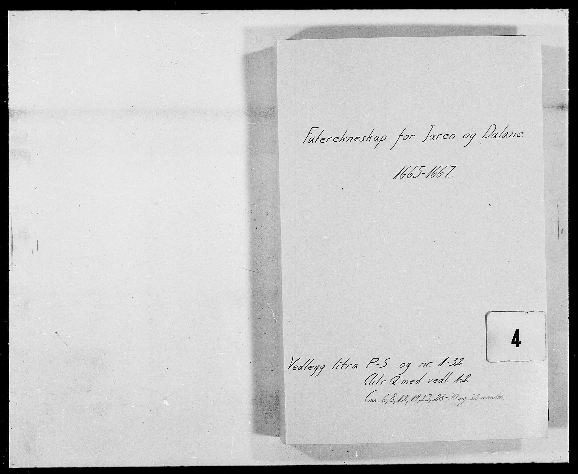RA, Rentekammeret inntil 1814, Reviderte regnskaper, Fogderegnskap, R46/L2710: Fogderegnskap Jæren og Dalane, 1667, s. 143
