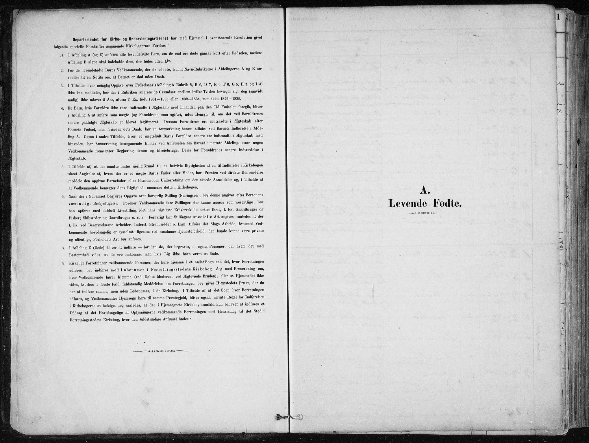 SAB, Fjell sokneprestembete, H/Haa: Ministerialbok nr. A  8, 1878-1898