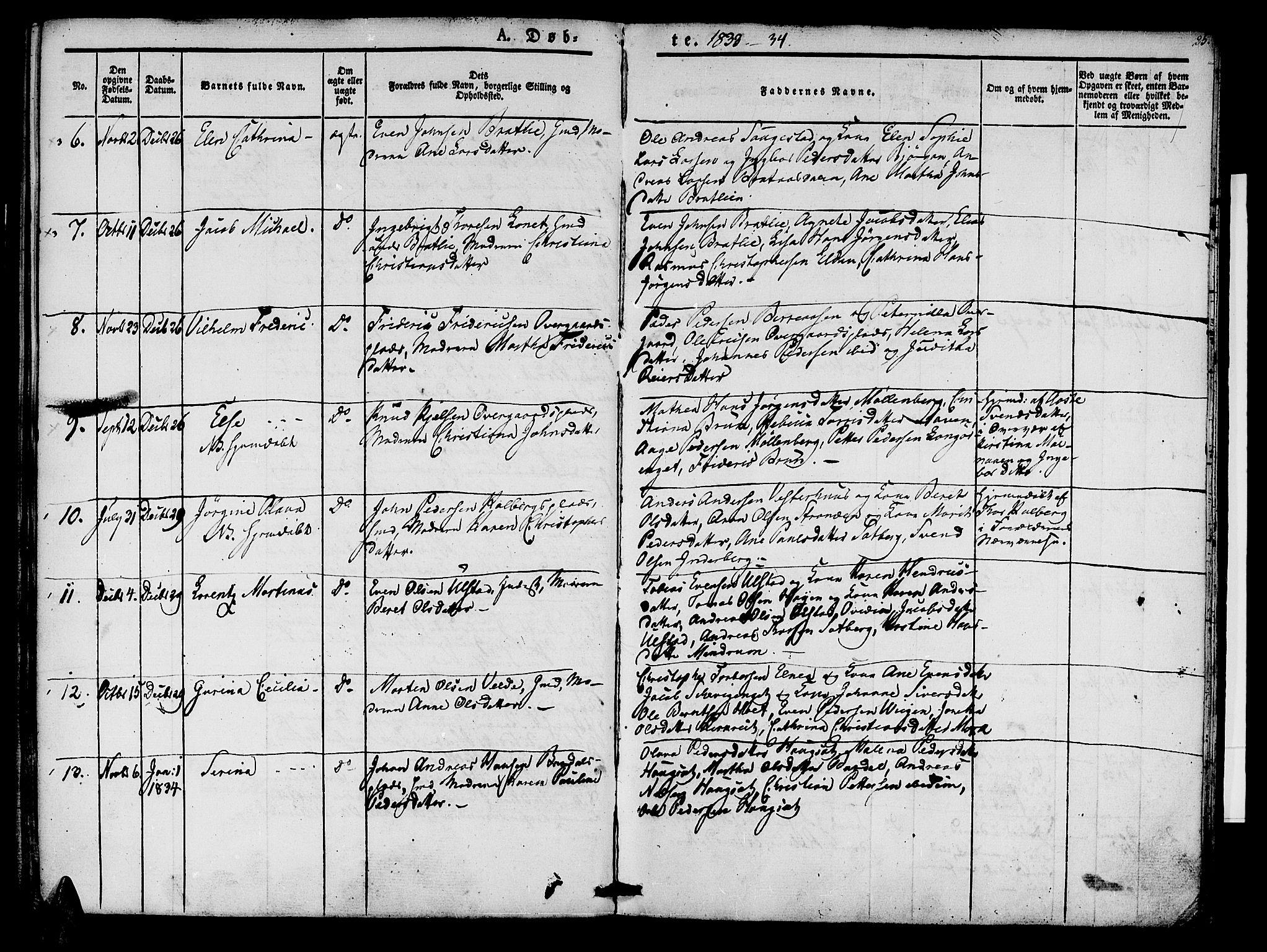 SAT, Ministerialprotokoller, klokkerbøker og fødselsregistre - Nord-Trøndelag, 741/L0391: Ministerialbok nr. 741A05, 1831-1836, s. 25