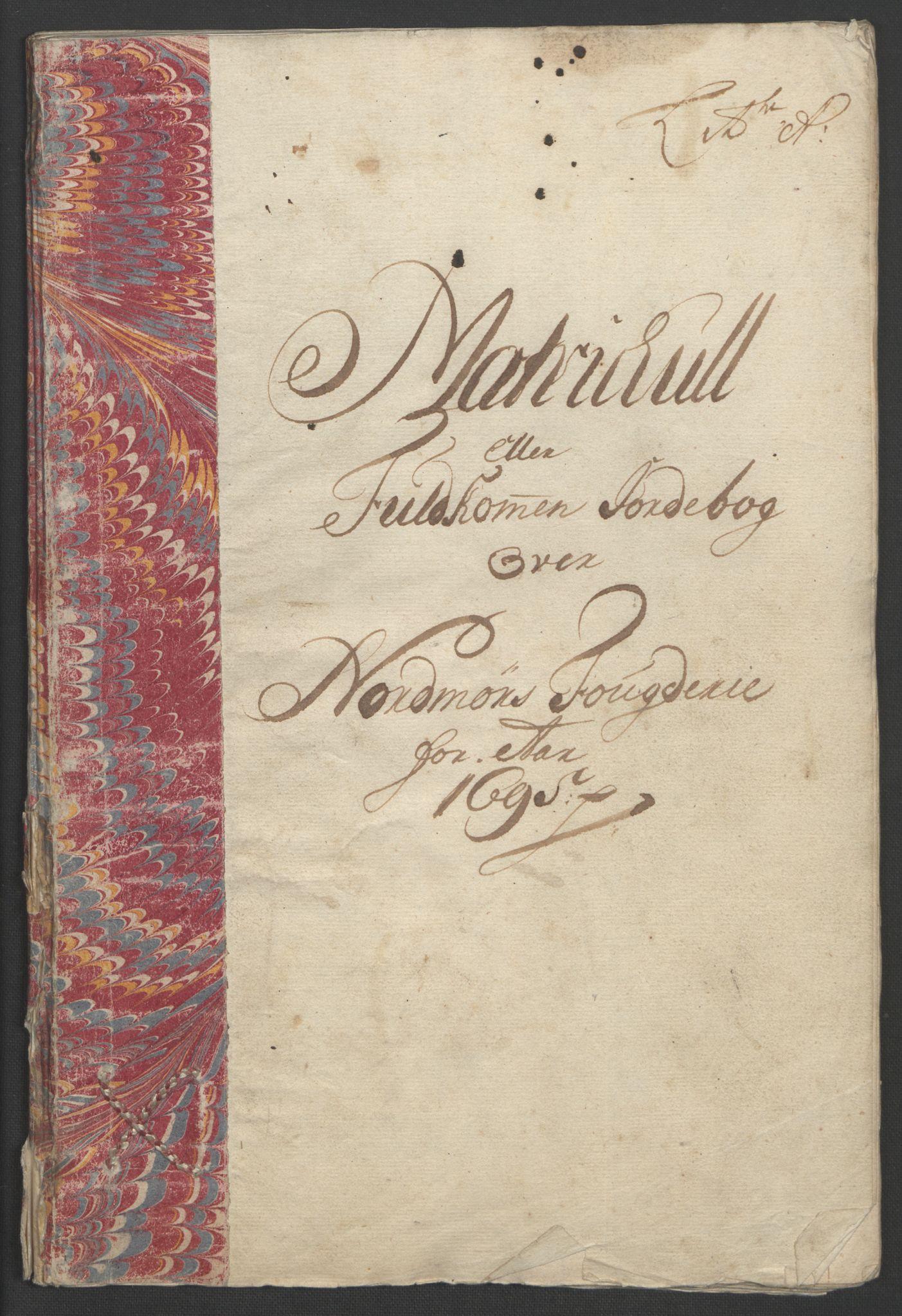 RA, Rentekammeret inntil 1814, Reviderte regnskaper, Fogderegnskap, R56/L3736: Fogderegnskap Nordmøre, 1694-1696, s. 191
