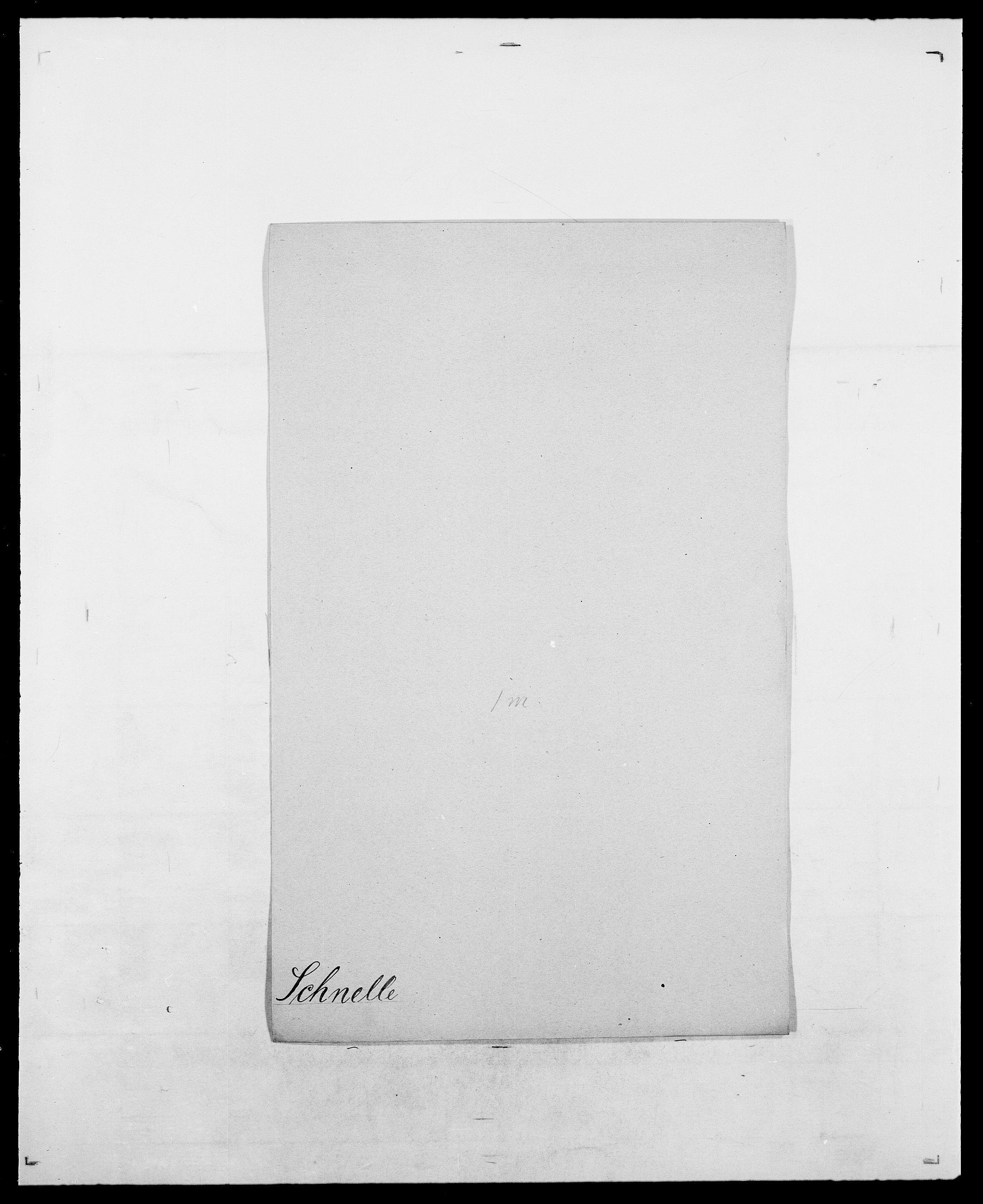 SAO, Delgobe, Charles Antoine - samling, D/Da/L0035: Schnabel - sjetman, s. 40