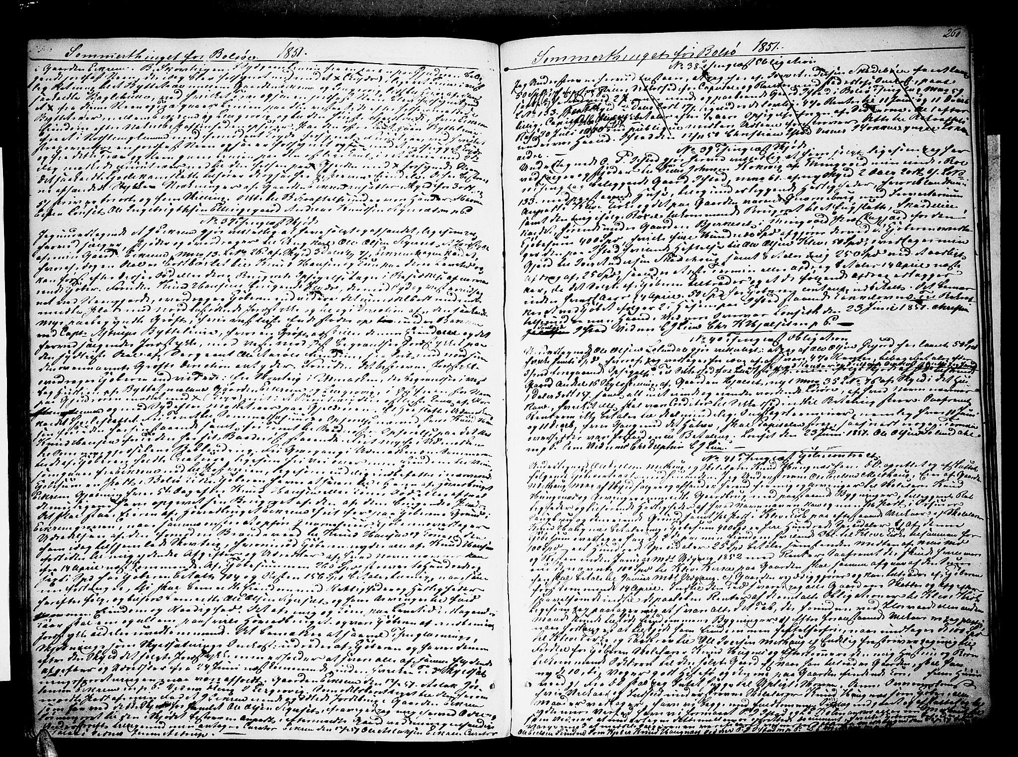 SAT, Romsdal sorenskriveri, 2/2C/L0013: Pantebok nr. 11, 1848-1851, s. 260