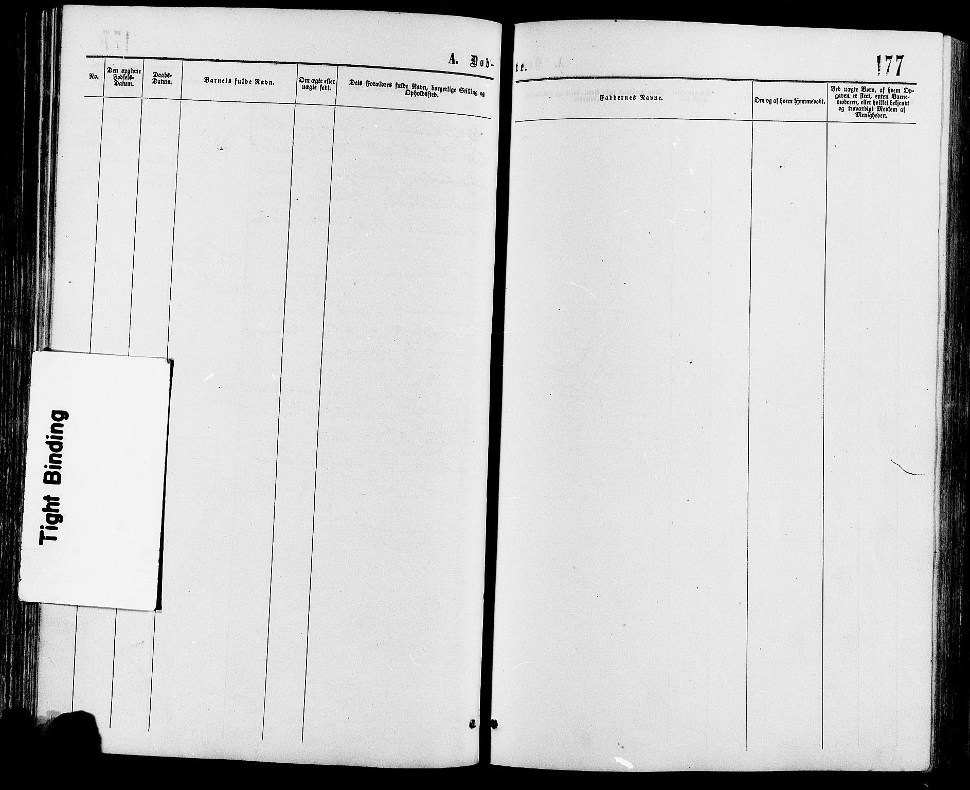 SAH, Sør-Fron prestekontor, H/Ha/Haa/L0002: Ministerialbok nr. 2, 1864-1880, s. 177