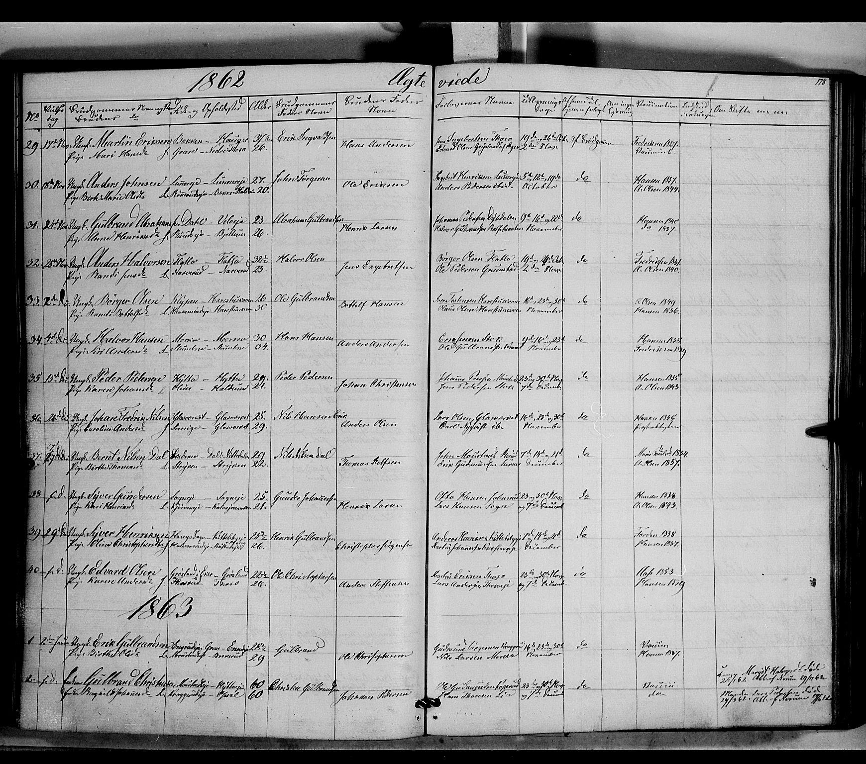 SAH, Jevnaker prestekontor, Ministerialbok nr. 7, 1858-1876, s. 178