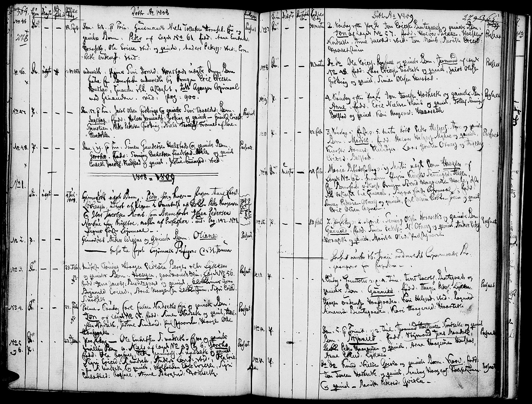 SAH, Rendalen prestekontor, H/Ha/Haa/L0002: Ministerialbok nr. 2, 1788-1814, s. 278-279