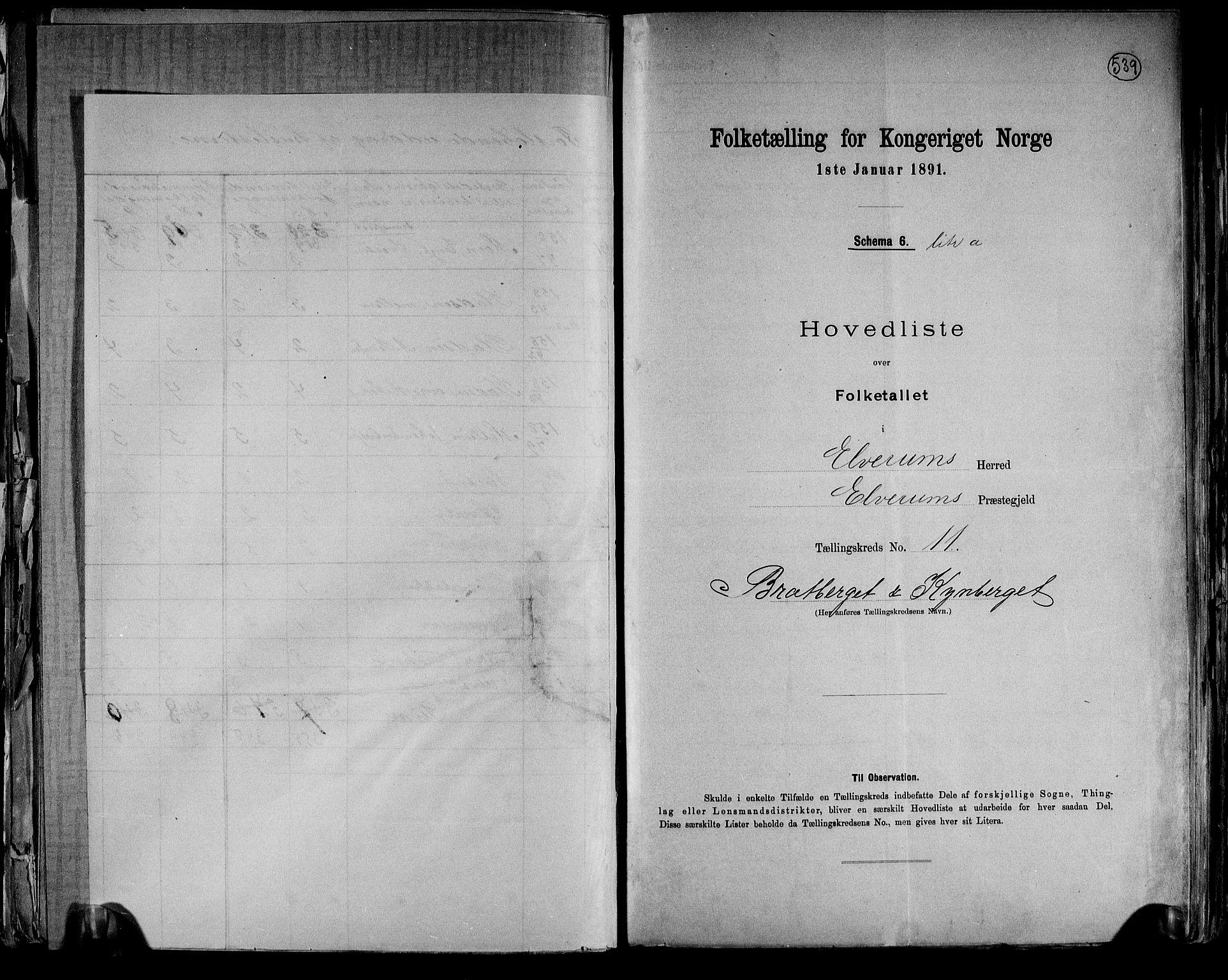 RA, Folketelling 1891 for 0427 Elverum herred, 1891, s. 38