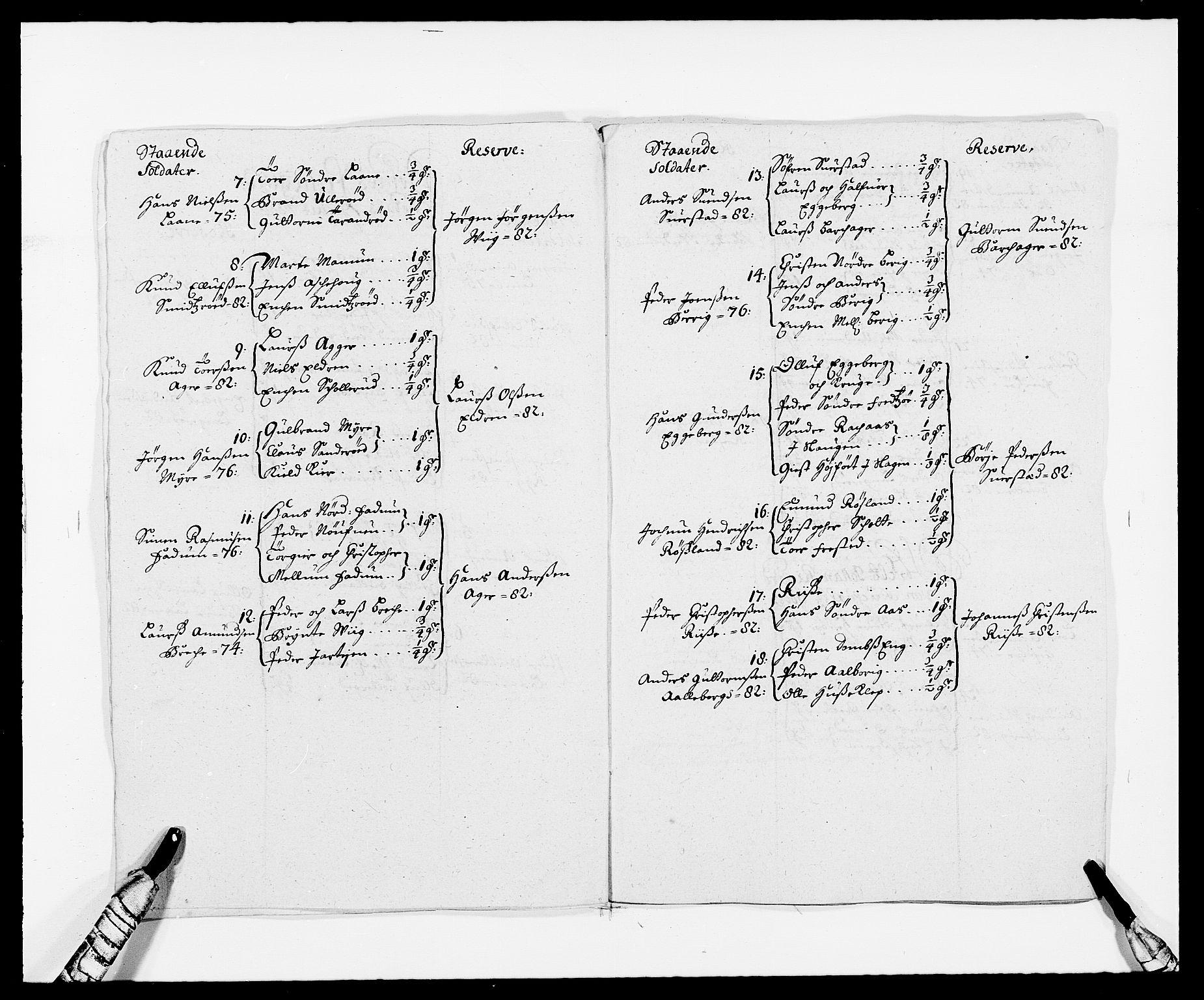 RA, Rentekammeret inntil 1814, Reviderte regnskaper, Fogderegnskap, R32/L1857: Fogderegnskap Jarlsberg grevskap, 1686-1690, s. 258