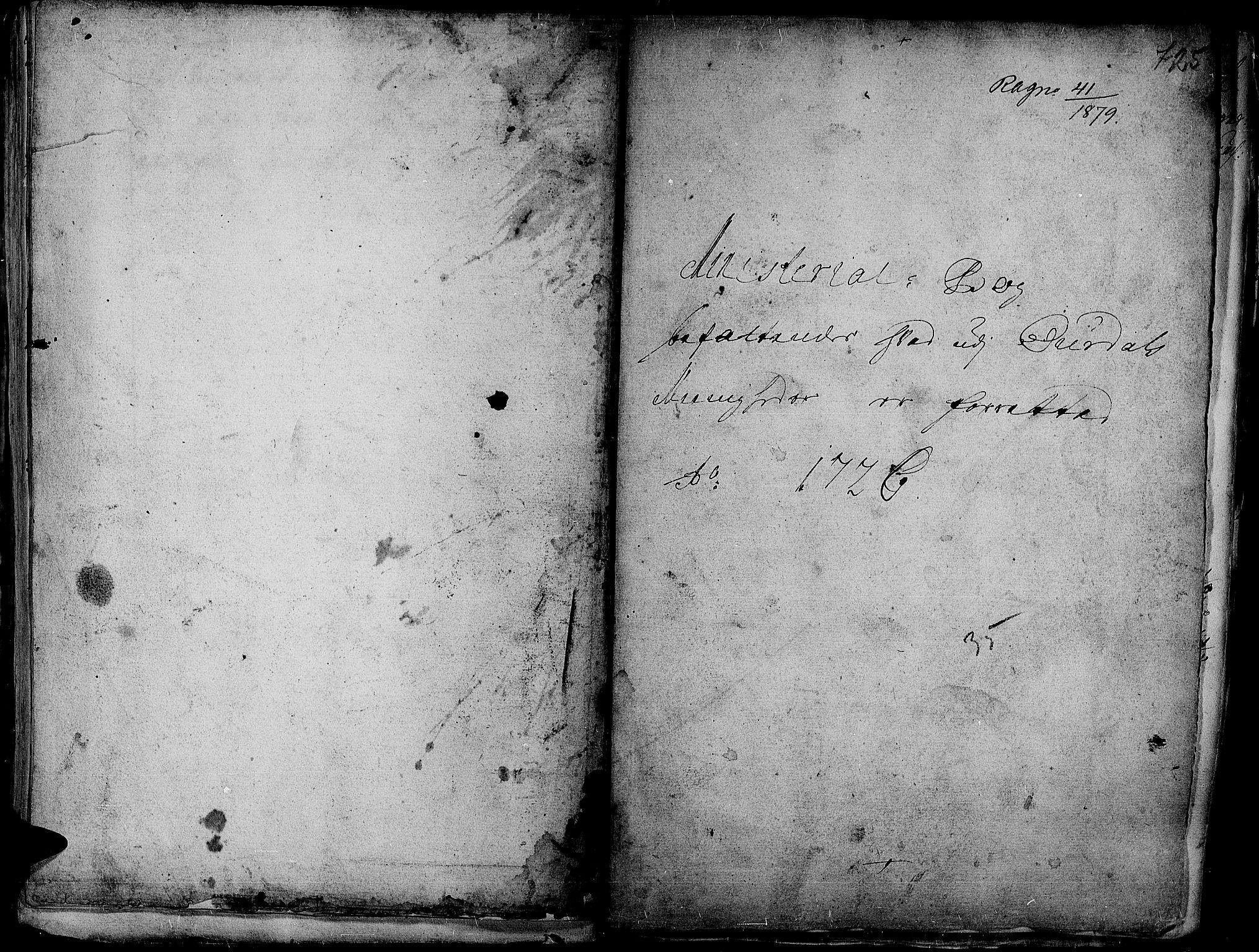 SAH, Aurdal prestekontor, Ministerialbok nr. 1-3, 1692-1730, s. 725