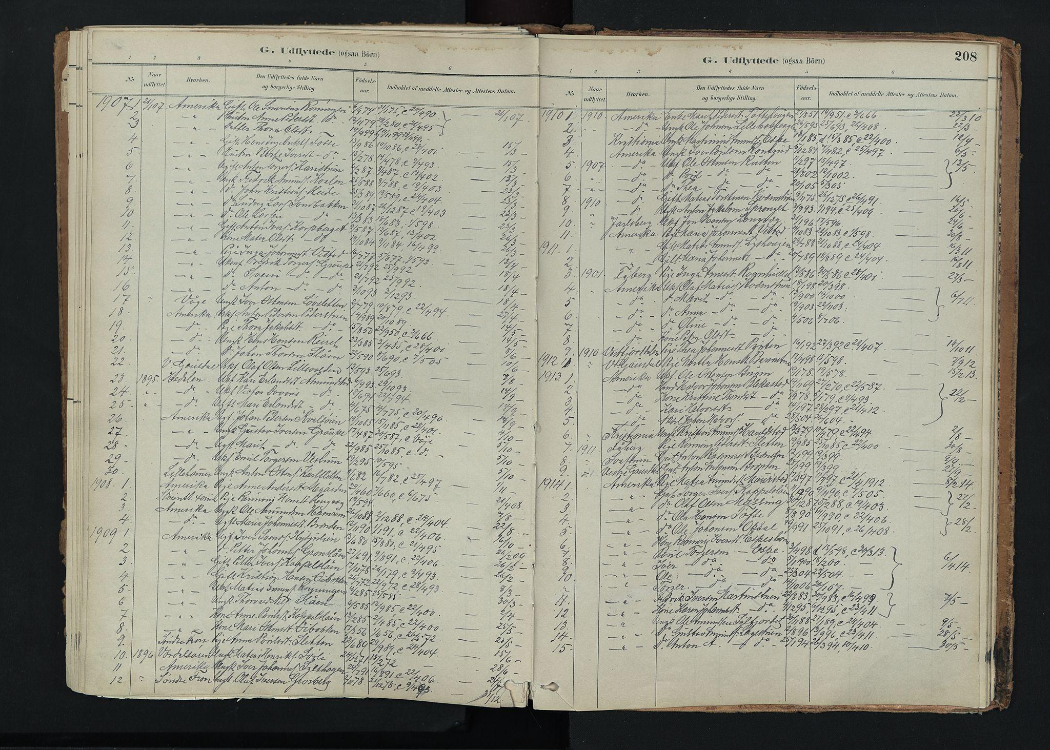 SAH, Nord-Fron prestekontor, Ministerialbok nr. 5, 1884-1914, s. 208
