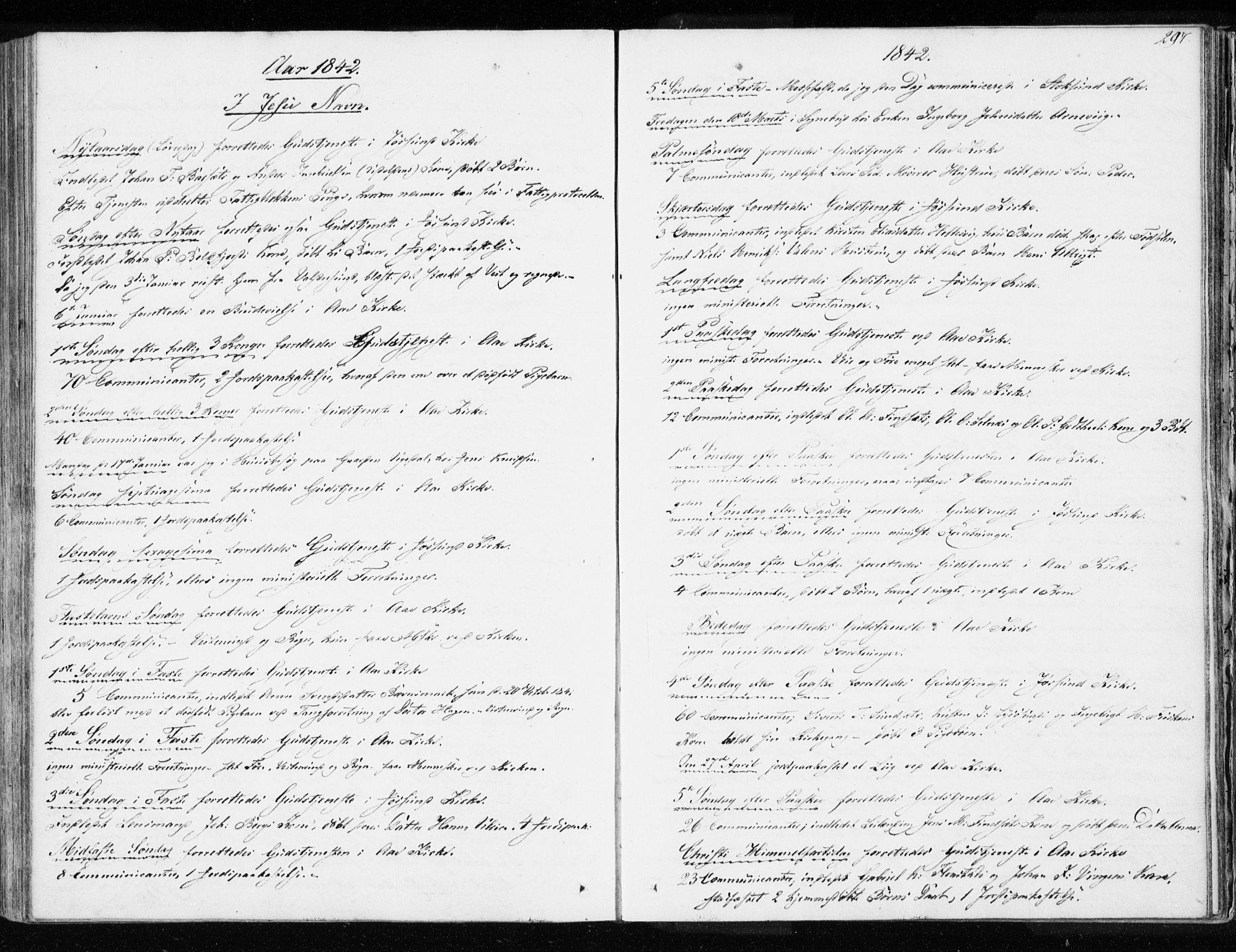 SAT, Ministerialprotokoller, klokkerbøker og fødselsregistre - Sør-Trøndelag, 655/L0676: Ministerialbok nr. 655A05, 1830-1847, s. 297