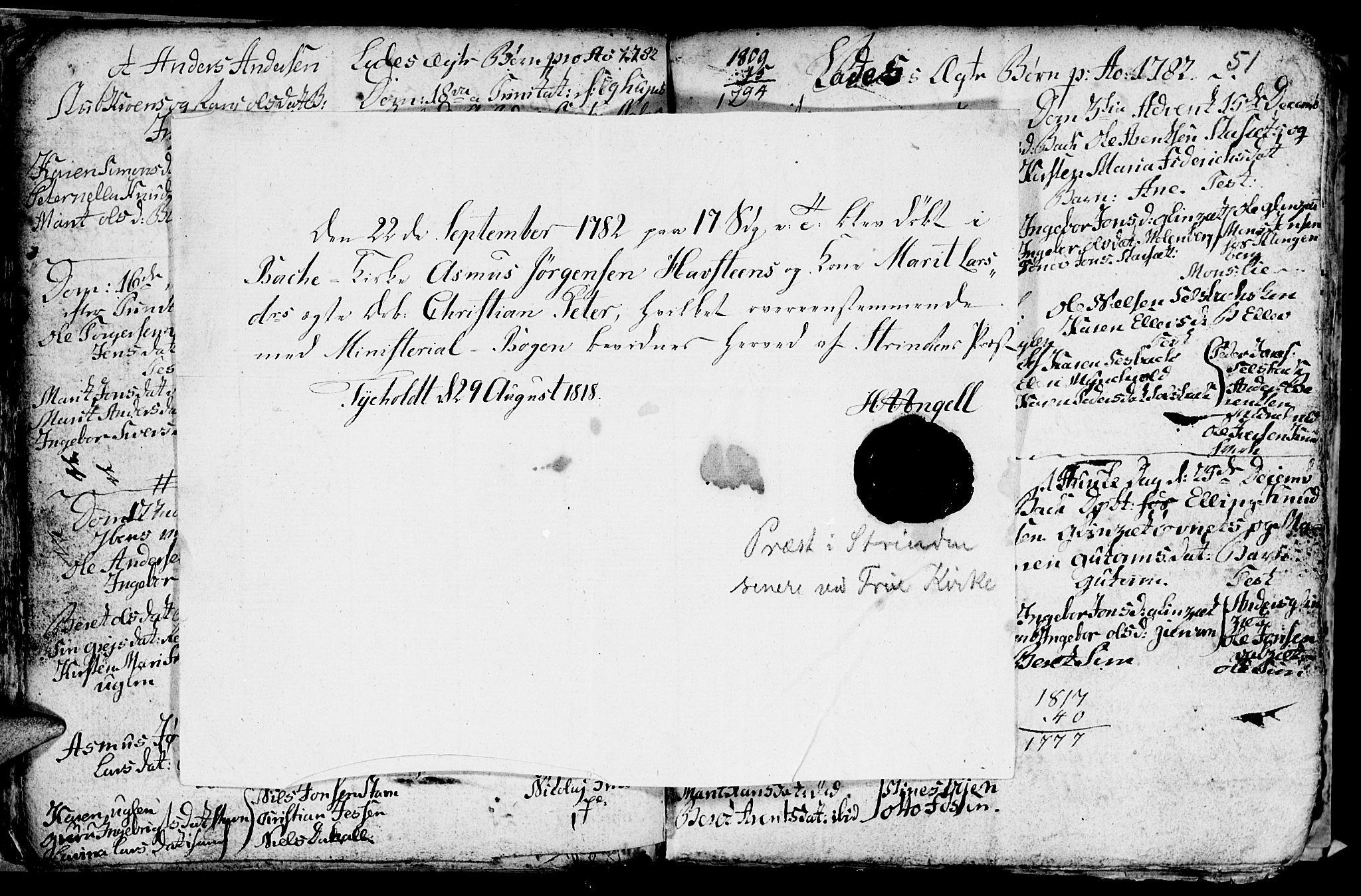 SAT, Ministerialprotokoller, klokkerbøker og fødselsregistre - Sør-Trøndelag, 606/L0305: Klokkerbok nr. 606C01, 1757-1819, s. 51