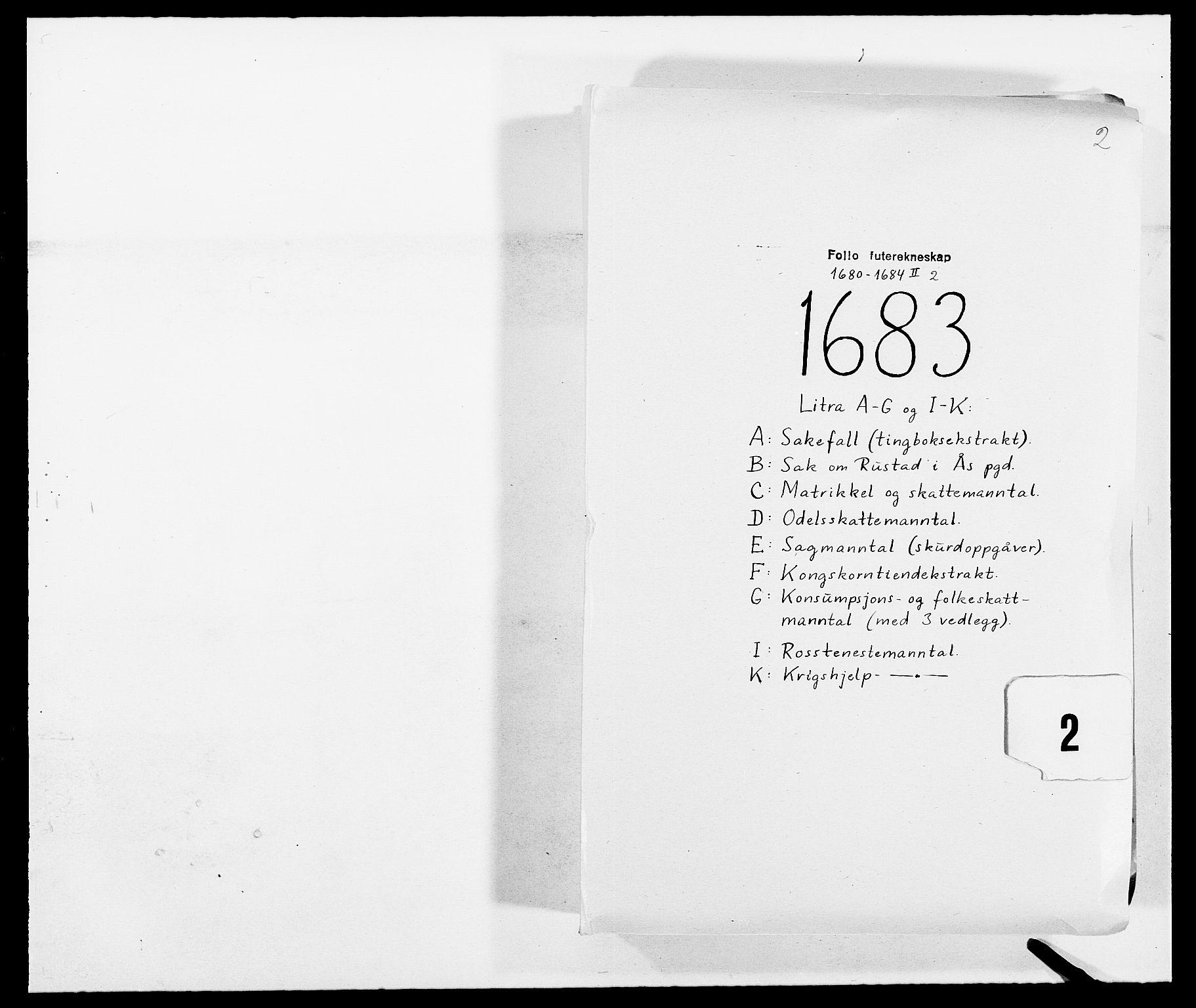 RA, Rentekammeret inntil 1814, Reviderte regnskaper, Fogderegnskap, R09/L0430: Fogderegnskap Follo, 1682-1683, s. 241