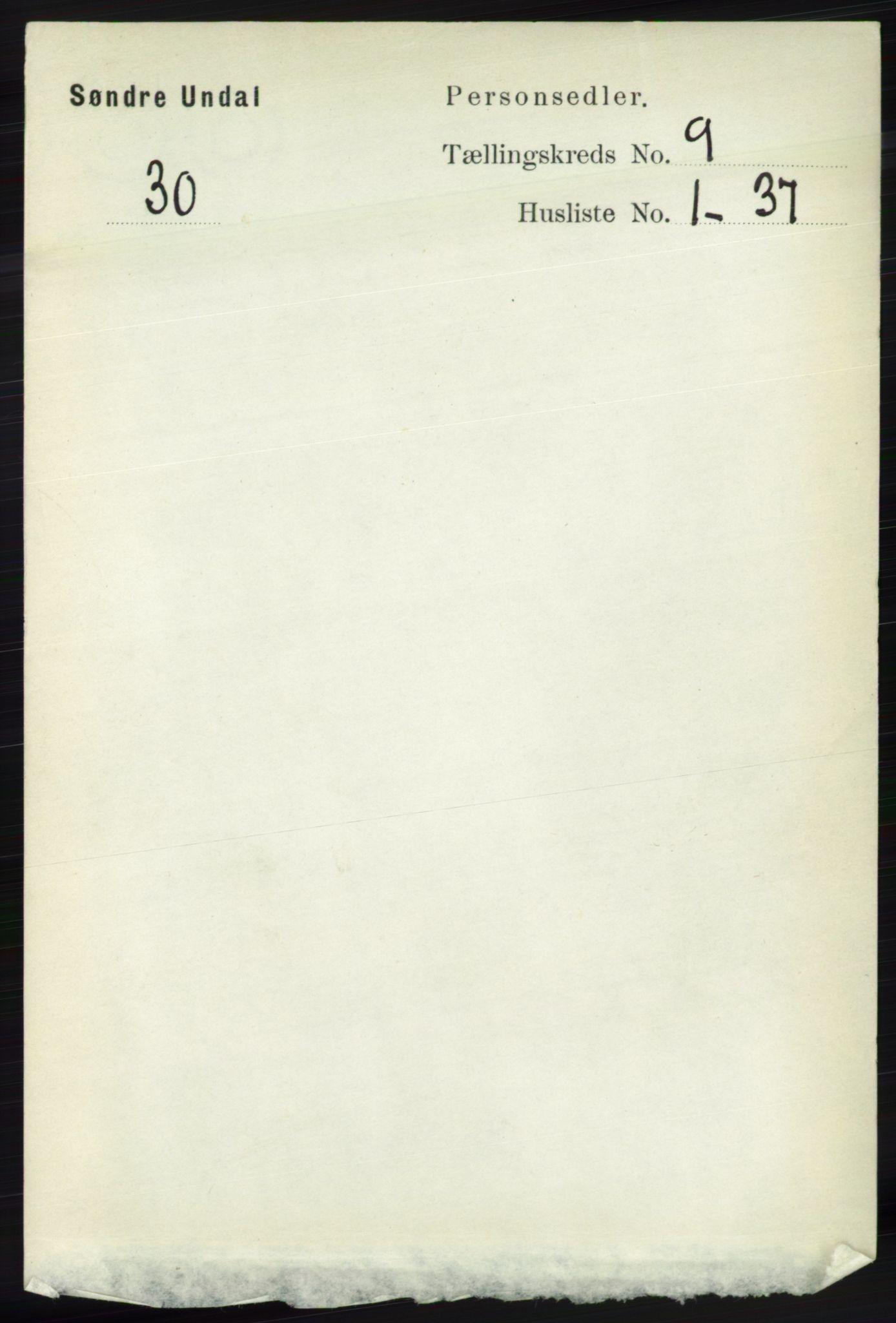 RA, Folketelling 1891 for 1029 Sør-Audnedal herred, 1891, s. 3919