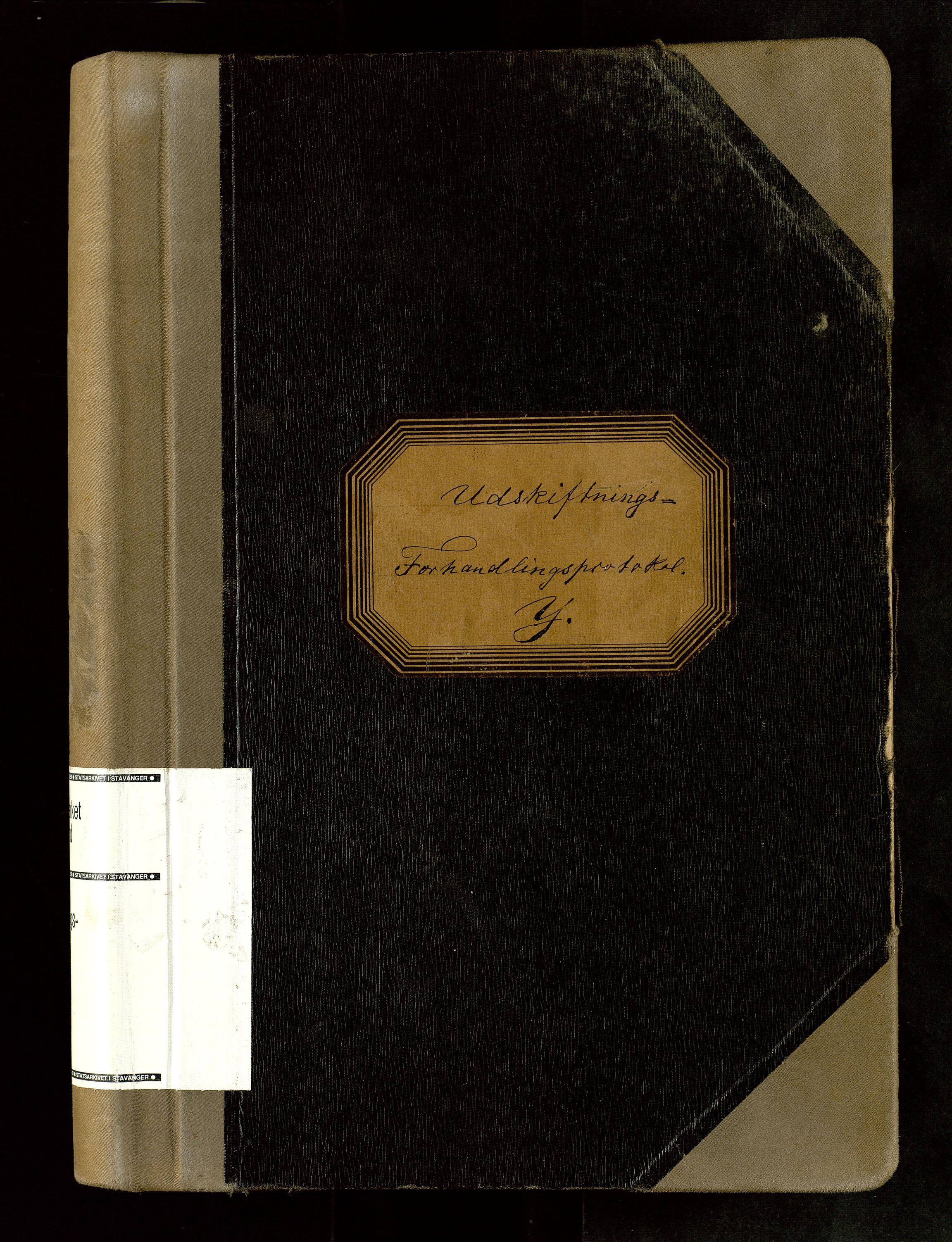 SAST, Rogaland jordskifterett, Oa/L0064: Forhandlingsprotokoll, 1905-1908
