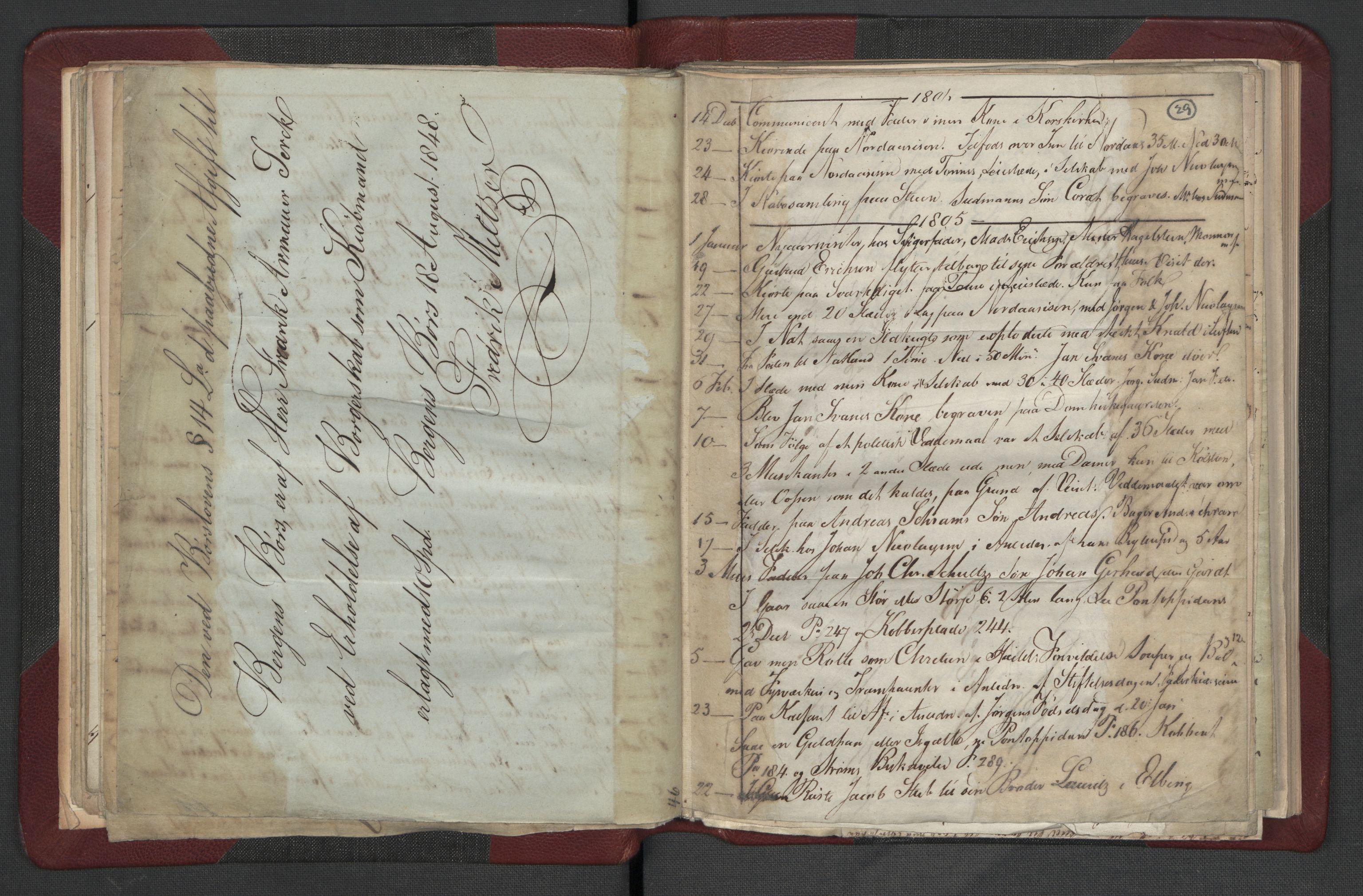 RA, Meltzer, Fredrik, F/L0002: Dagbok, 1796-1808, s. 28b-29a