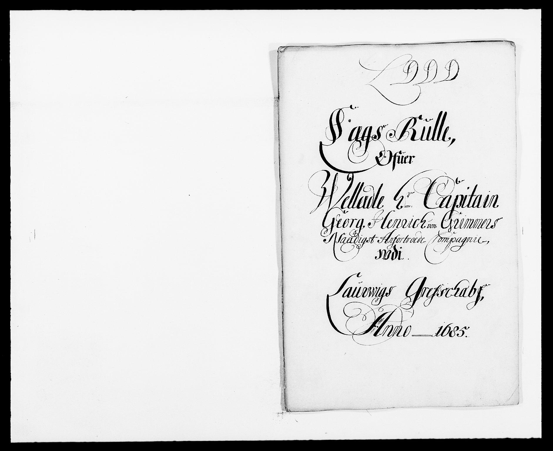 RA, Rentekammeret inntil 1814, Reviderte regnskaper, Fogderegnskap, R33/L1970: Fogderegnskap Larvik grevskap, 1675-1687, s. 73
