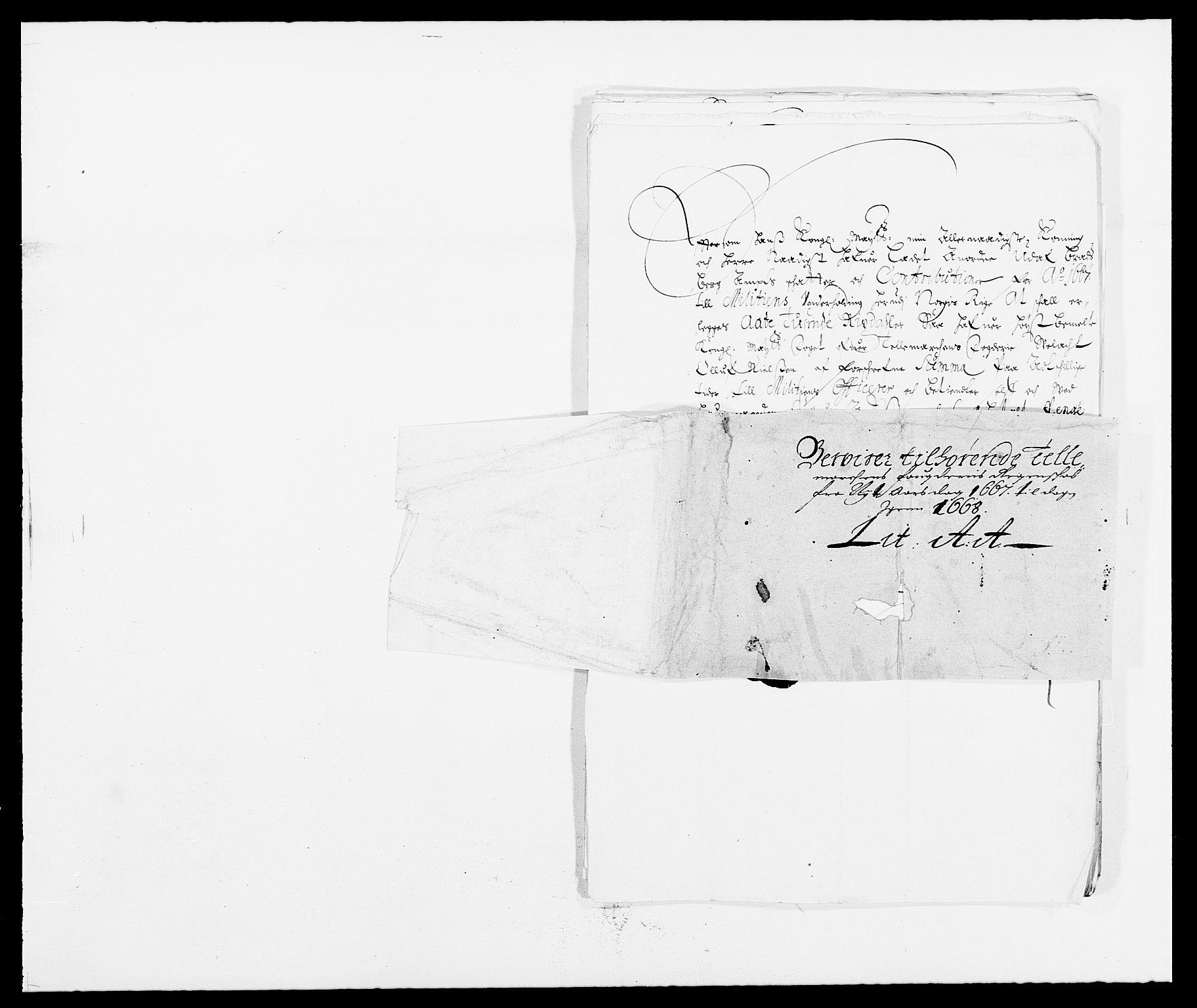 RA, Rentekammeret inntil 1814, Reviderte regnskaper, Fogderegnskap, R35/L2057: Fogderegnskap Øvre og Nedre Telemark, 1666-1667, s. 498