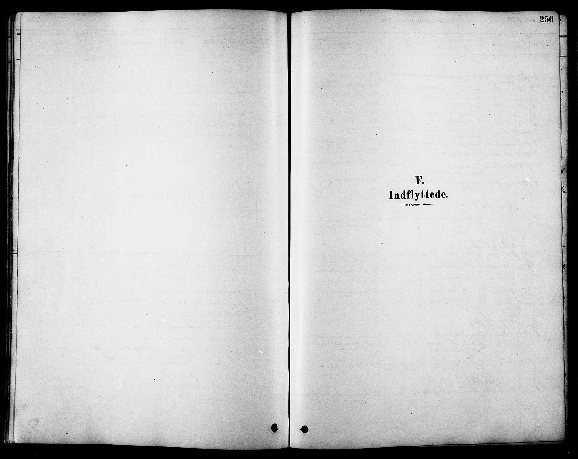 SAT, Ministerialprotokoller, klokkerbøker og fødselsregistre - Sør-Trøndelag, 616/L0423: Klokkerbok nr. 616C06, 1878-1903, s. 256