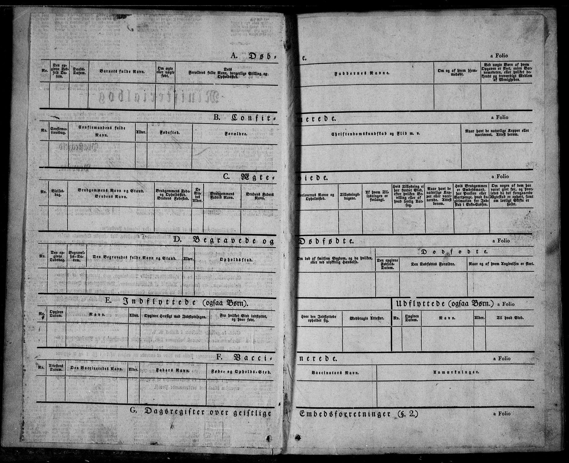 SAKO, Mo kirkebøker, F/Fa/L0005: Ministerialbok nr. I 5, 1844-1864