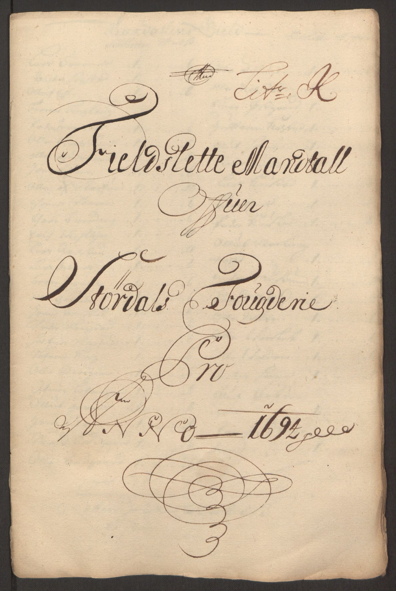 RA, Rentekammeret inntil 1814, Reviderte regnskaper, Fogderegnskap, R62/L4186: Fogderegnskap Stjørdal og Verdal, 1693-1694, s. 242