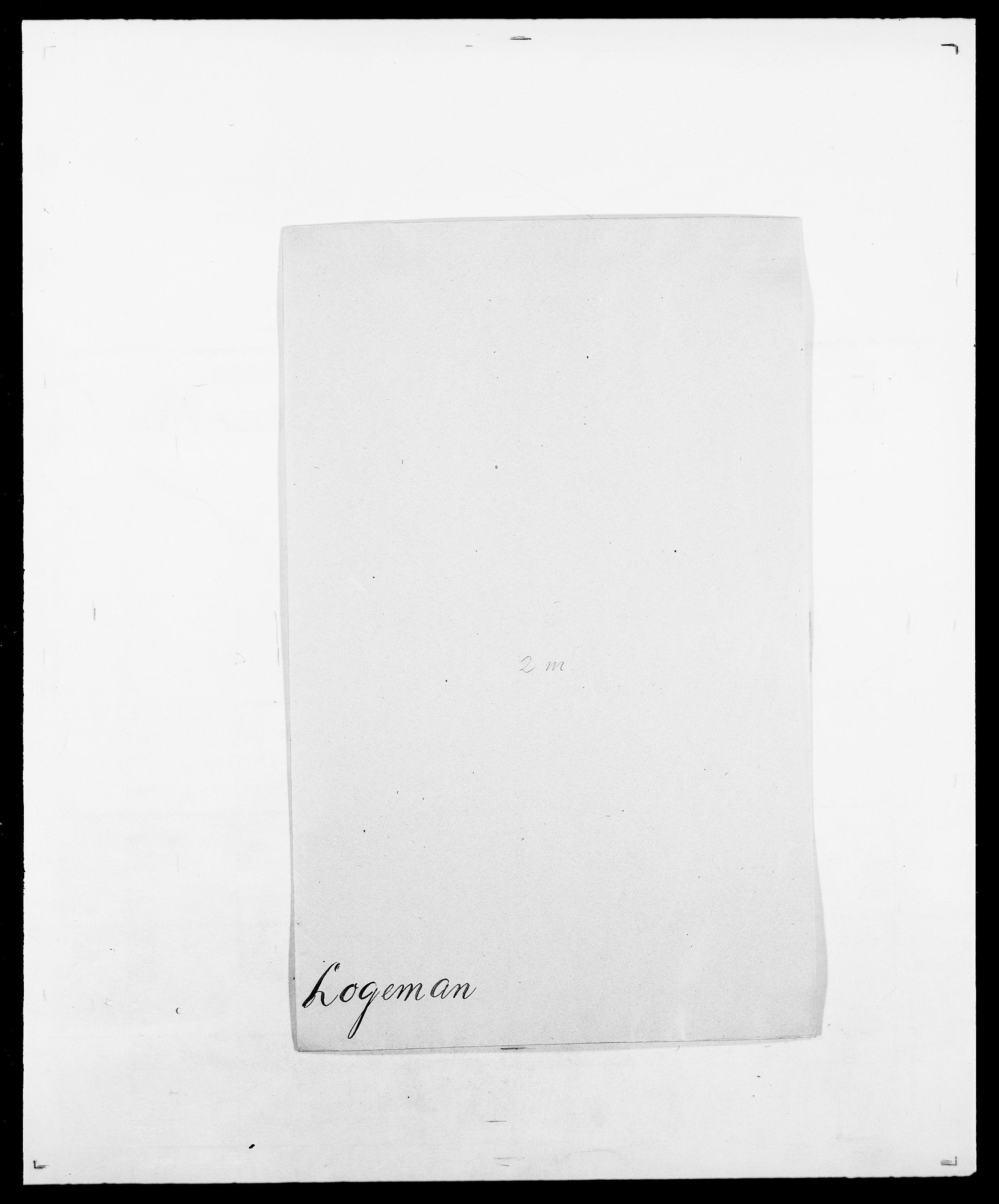 SAO, Delgobe, Charles Antoine - samling, D/Da/L0024: Lobech - Lærum, s. 48