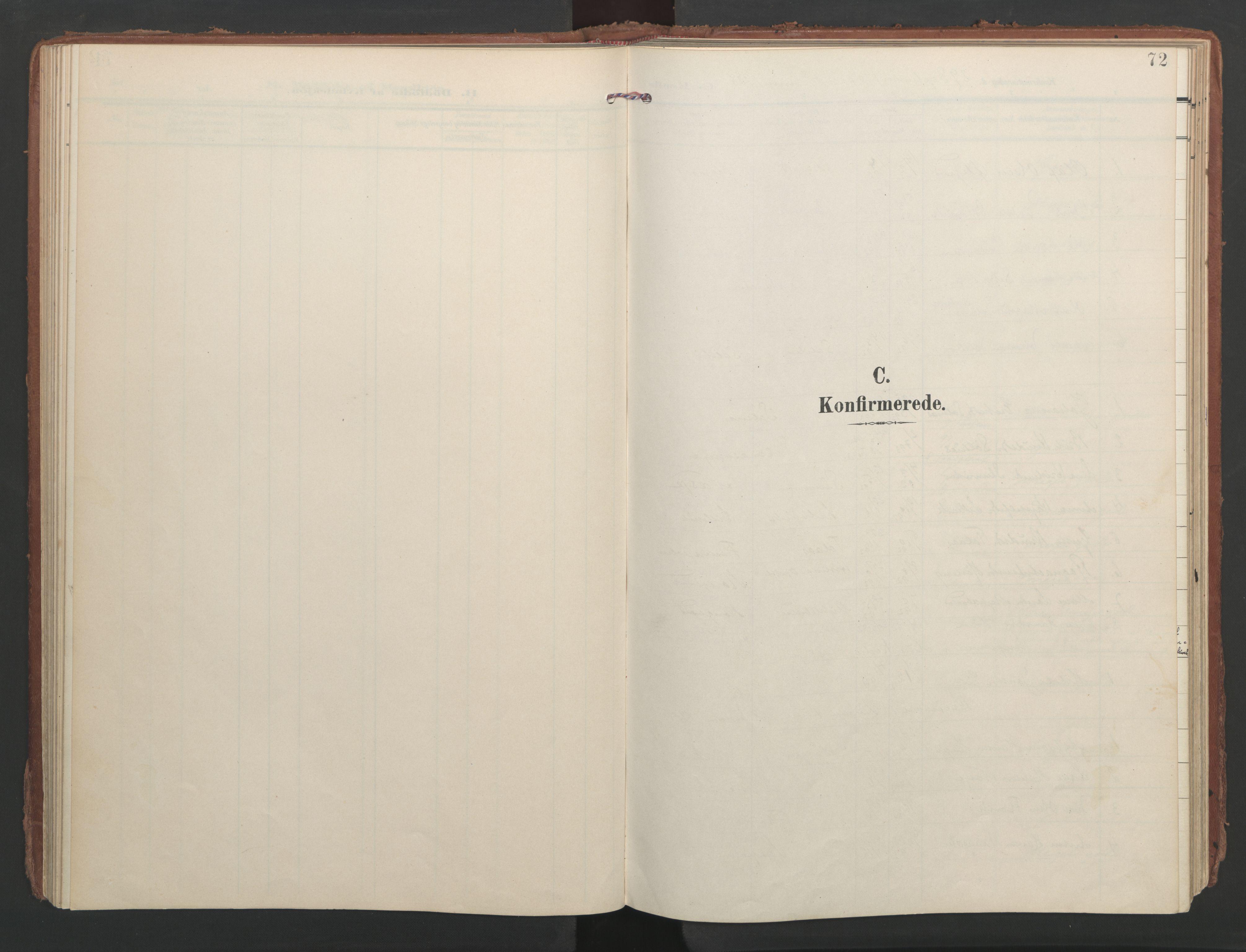 SAT, Ministerialprotokoller, klokkerbøker og fødselsregistre - Møre og Romsdal, 547/L0605: Ministerialbok nr. 547A07, 1907-1936, s. 72