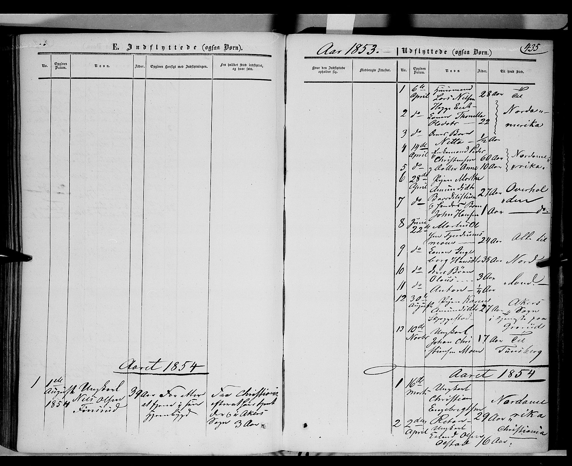 SAH, Gausdal prestekontor, Ministerialbok nr. 8, 1850-1861, s. 435