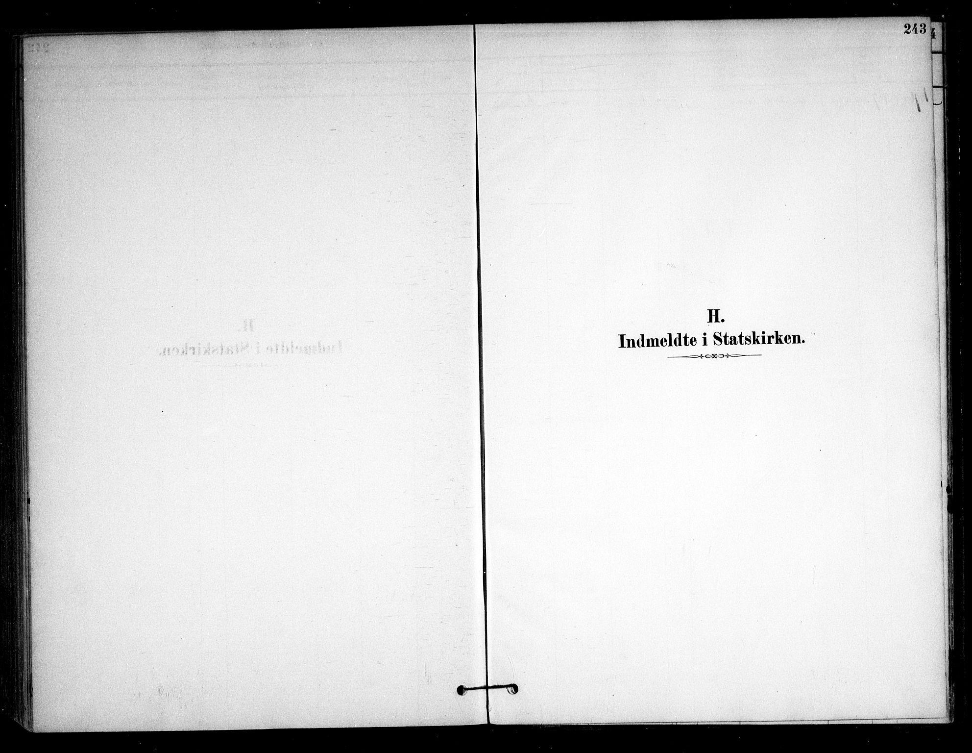 SAO, Sørum prestekontor Kirkebøker, F/Fb/L0001: Ministerialbok nr. II 1, 1878-1915, s. 243
