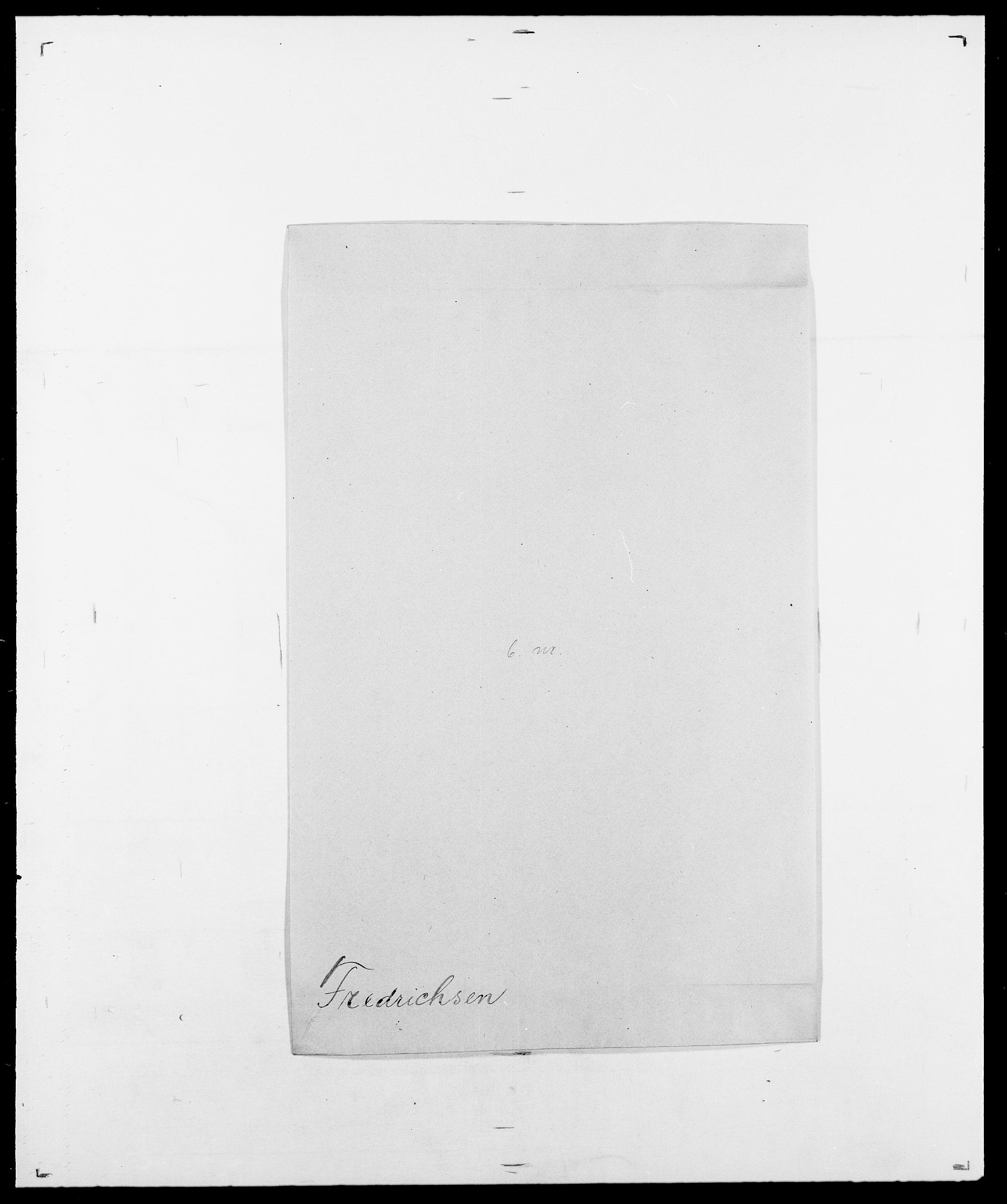 SAO, Delgobe, Charles Antoine - samling, D/Da/L0012: Flor, Floer, Flohr - Fritzner, s. 727