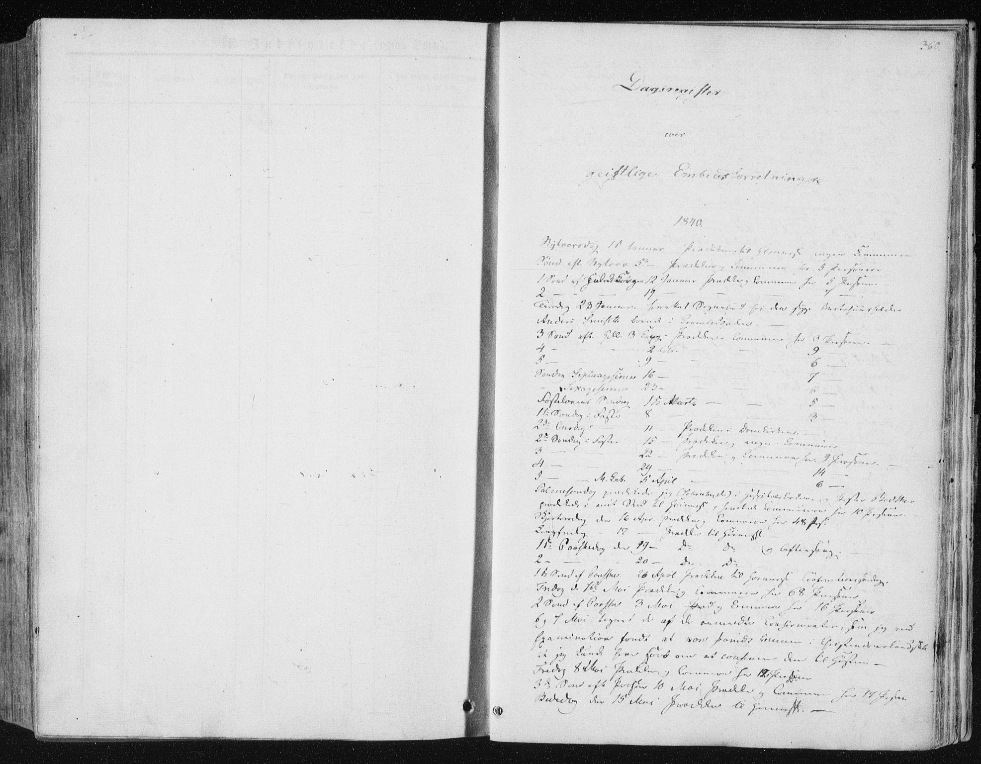 SAT, Ministerialprotokoller, klokkerbøker og fødselsregistre - Sør-Trøndelag, 602/L0110: Ministerialbok nr. 602A08, 1840-1854, s. 360