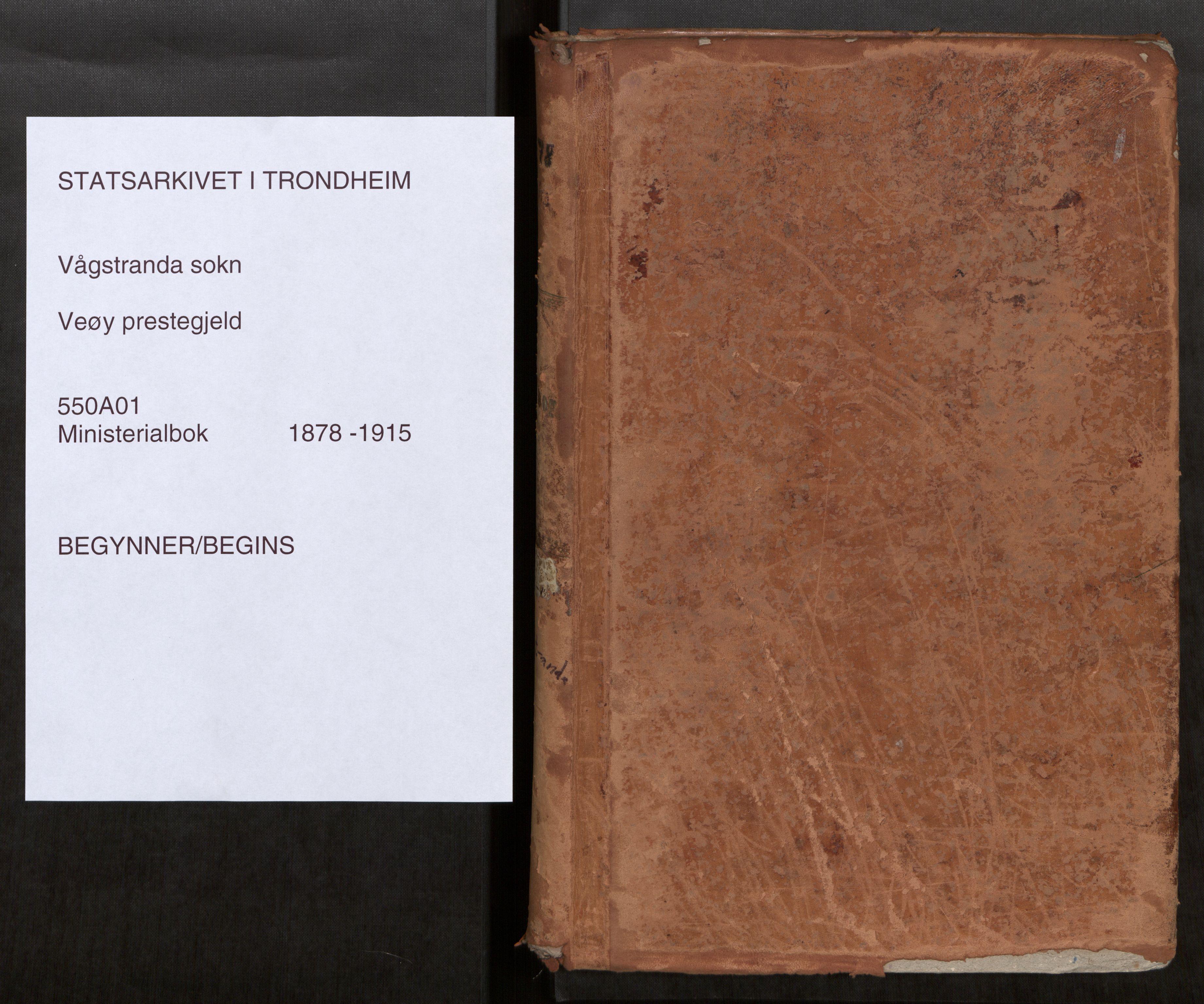 SAT, Grytten sokneprestkontor, Ministerialbok nr. 550A01, 1878-1915