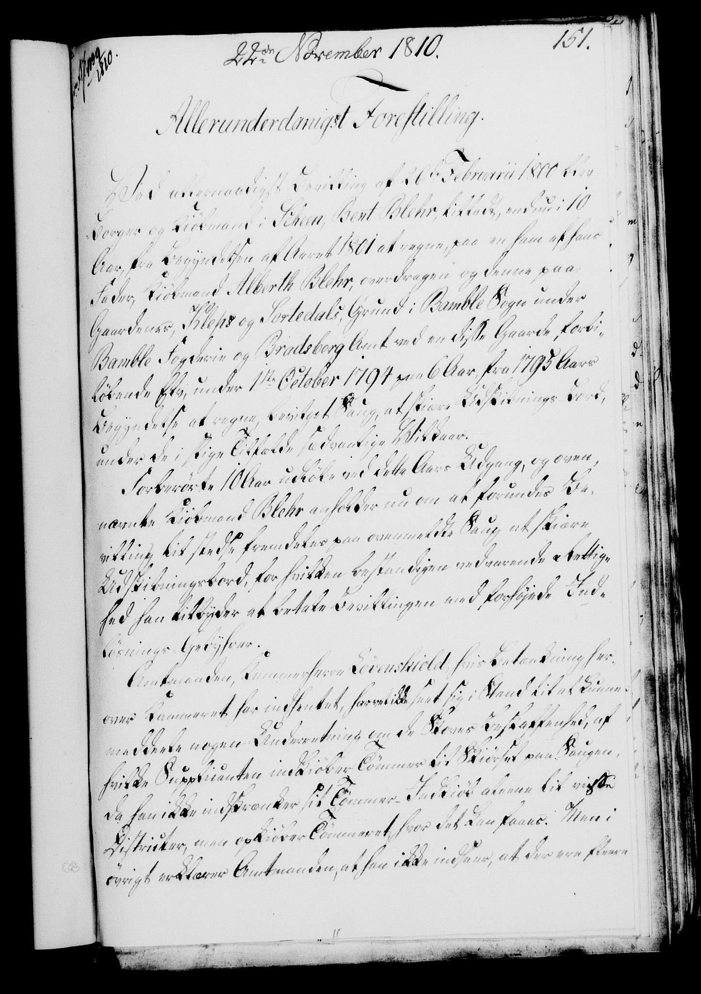 RA, Rentekammeret, Kammerkanselliet, G/Gf/Gfa/L0092: Norsk relasjons- og resolusjonsprotokoll (merket RK 52.92), 1810, s. 577