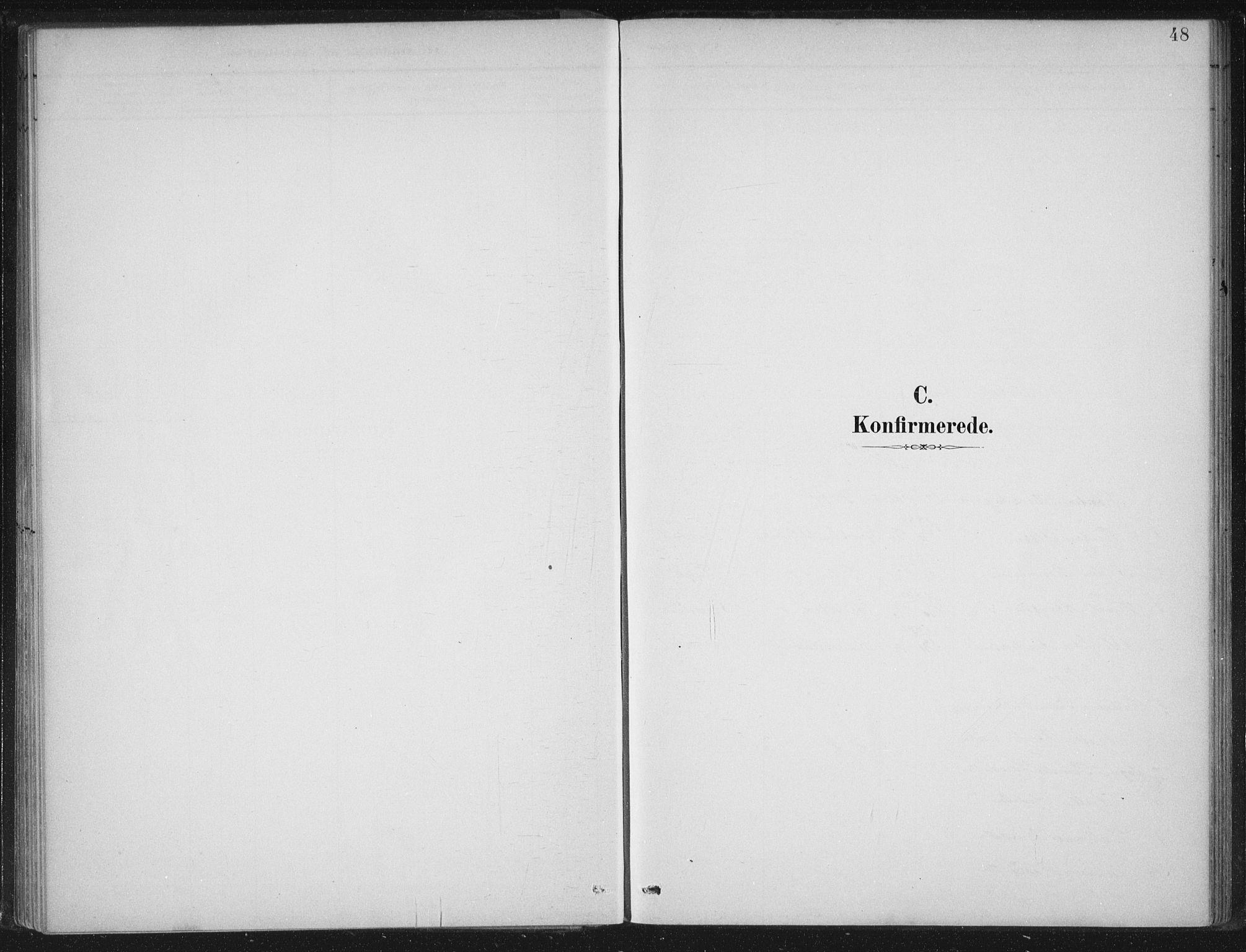 SAB, Gloppen sokneprestembete, H/Haa/Haad/L0001: Ministerialbok nr. D  1, 1885-1910, s. 48