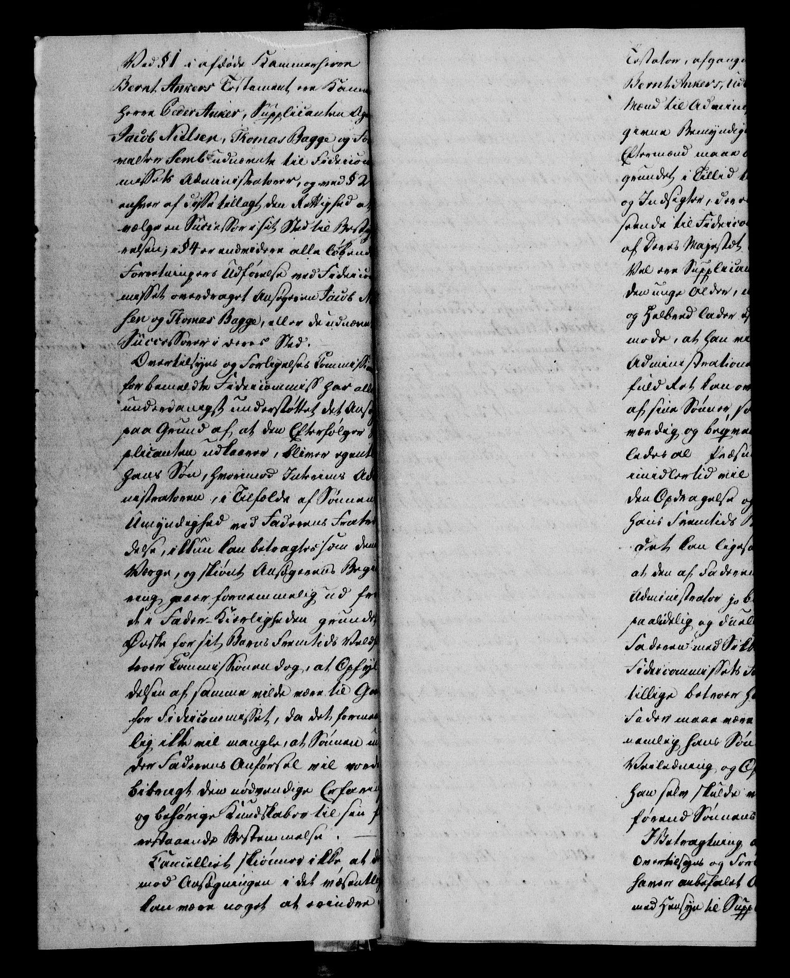 RA, Danske Kanselli 1800-1814, H/Hf/Hfa/Hfab/L0011: Forestillinger, 1810, s. 1b
