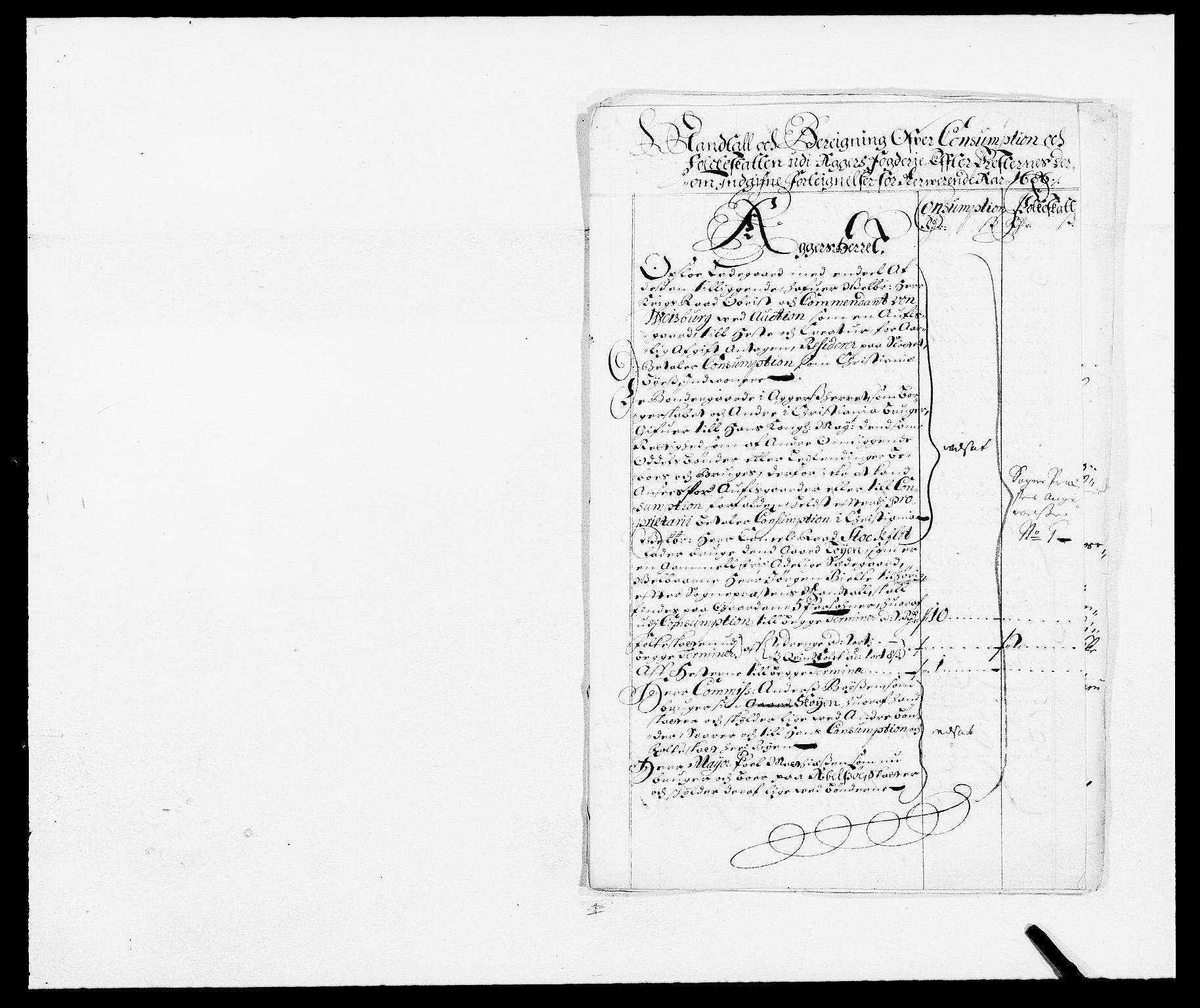 RA, Rentekammeret inntil 1814, Reviderte regnskaper, Fogderegnskap, R08/L0422: Fogderegnskap Aker, 1684-1686, s. 97