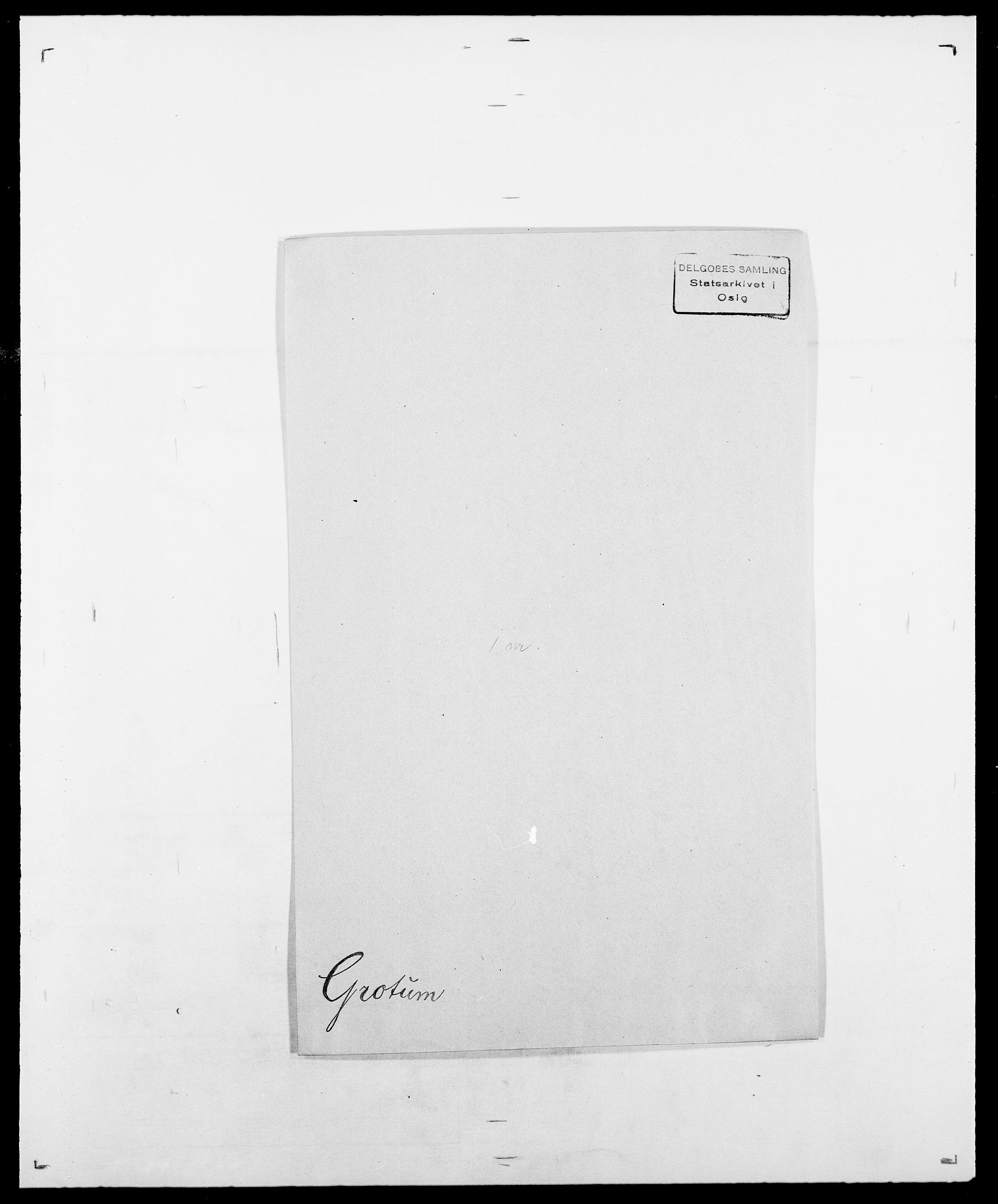 SAO, Delgobe, Charles Antoine - samling, D/Da/L0015: Grodtshilling - Halvorsæth, s. 34