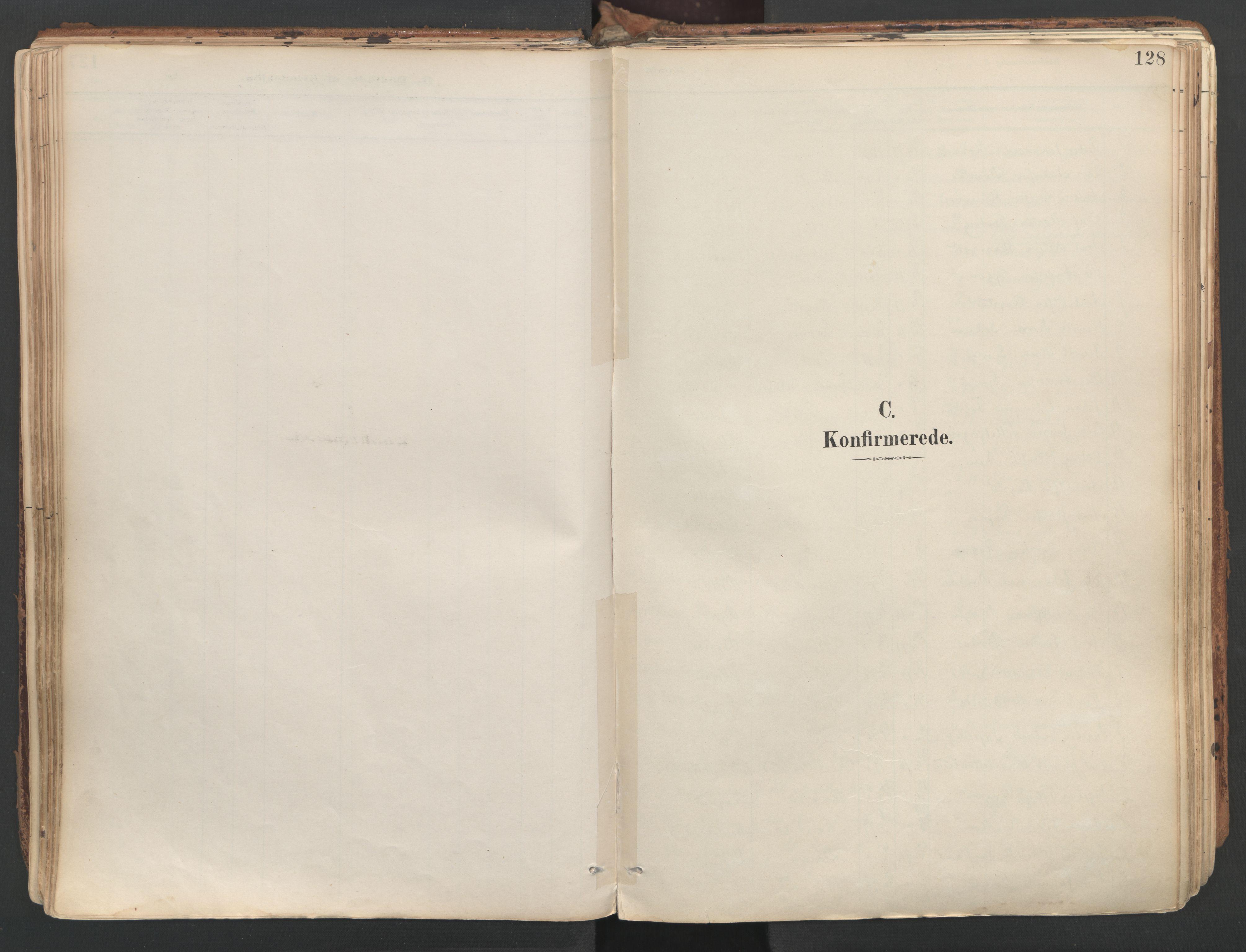 SAT, Ministerialprotokoller, klokkerbøker og fødselsregistre - Sør-Trøndelag, 687/L1004: Ministerialbok nr. 687A10, 1891-1923, s. 128