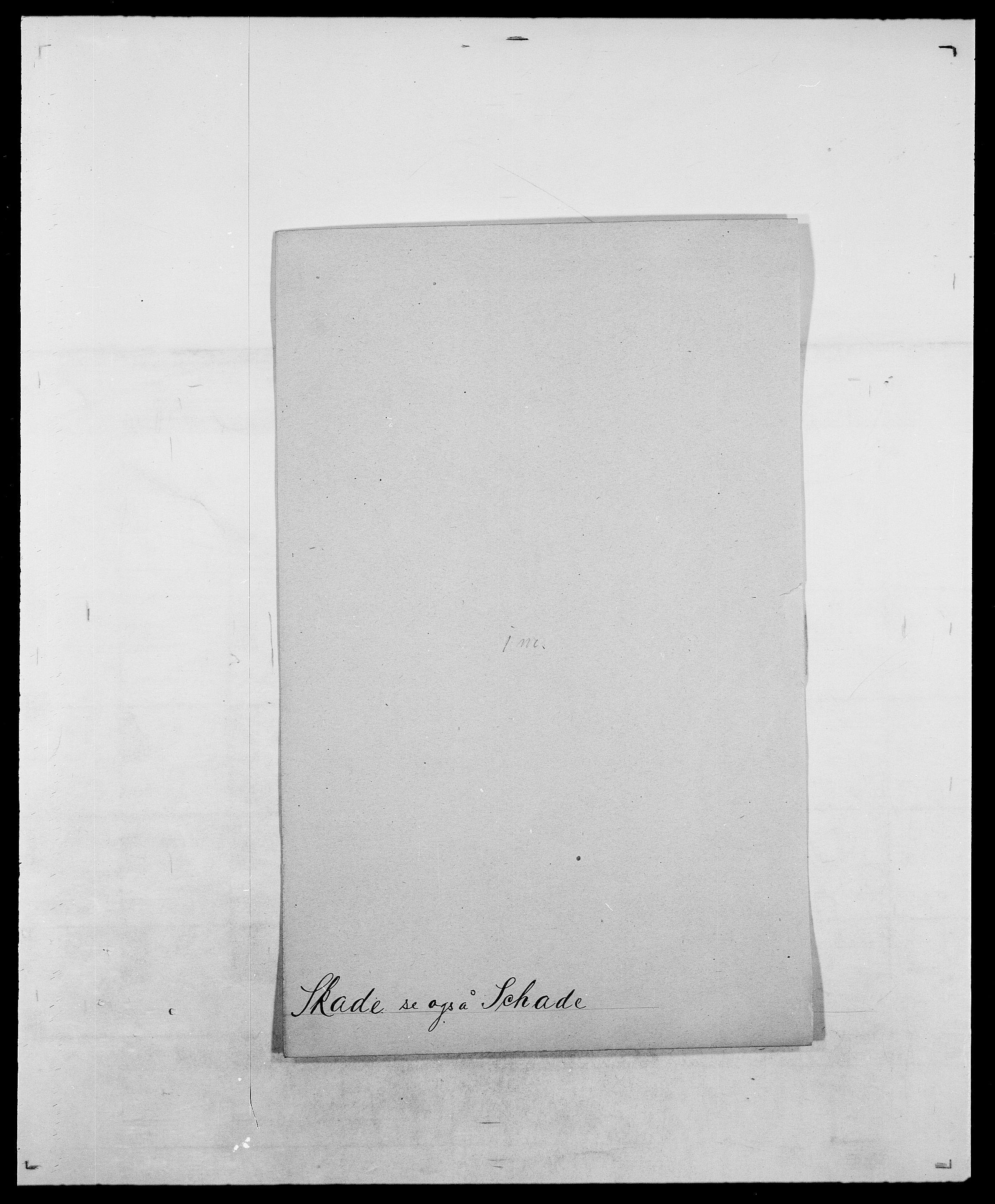 SAO, Delgobe, Charles Antoine - samling, D/Da/L0036: Skaanør - Staverskov, s. 22
