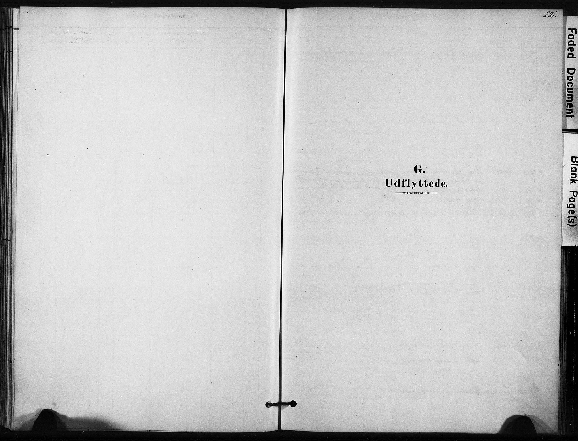 SAT, Ministerialprotokoller, klokkerbøker og fødselsregistre - Sør-Trøndelag, 631/L0512: Ministerialbok nr. 631A01, 1879-1912, s. 221