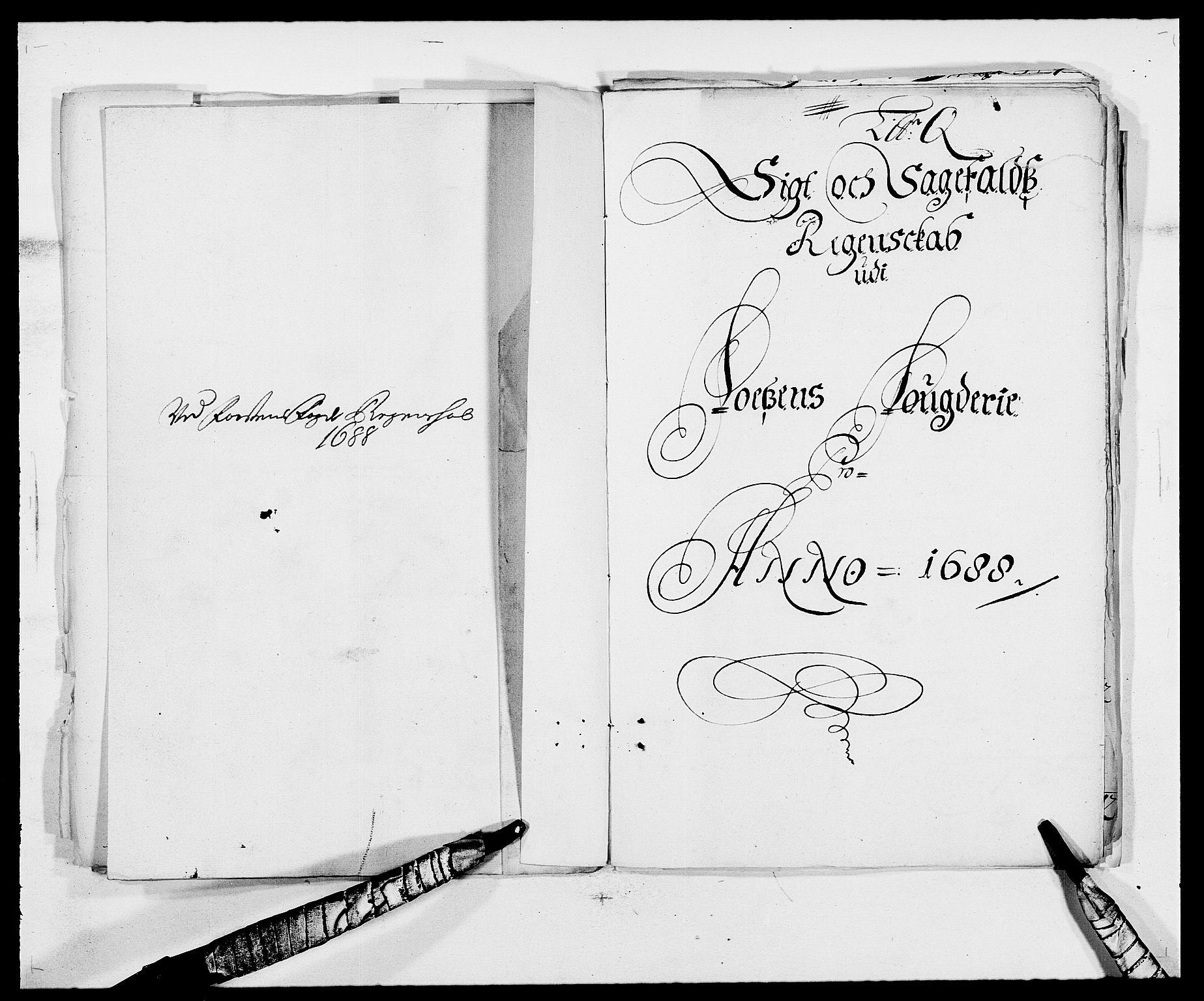 RA, Rentekammeret inntil 1814, Reviderte regnskaper, Fogderegnskap, R57/L3846: Fogderegnskap Fosen, 1688, s. 185