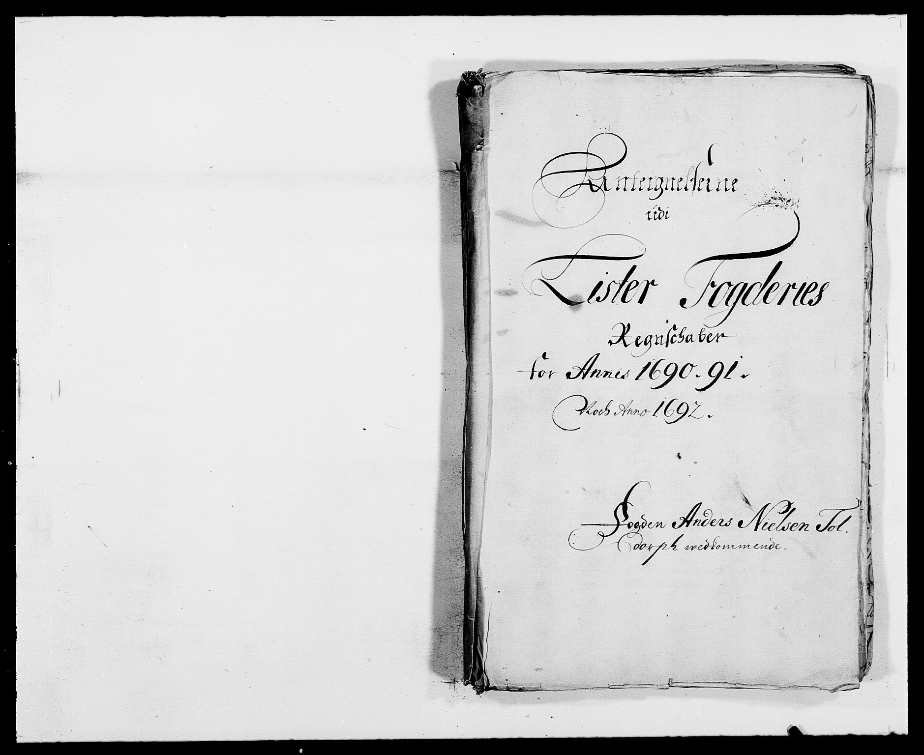 RA, Rentekammeret inntil 1814, Reviderte regnskaper, Fogderegnskap, R41/L2536: Fogderegnskap Lista, 1690-1693, s. 276