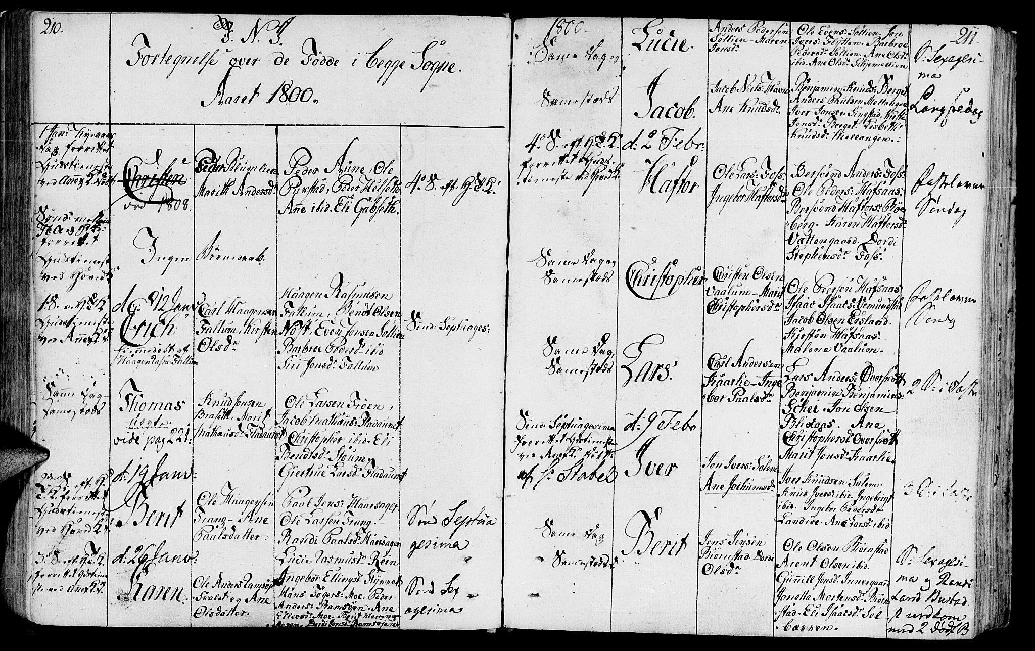 SAT, Ministerialprotokoller, klokkerbøker og fødselsregistre - Sør-Trøndelag, 646/L0606: Ministerialbok nr. 646A04, 1791-1805, s. 210-211