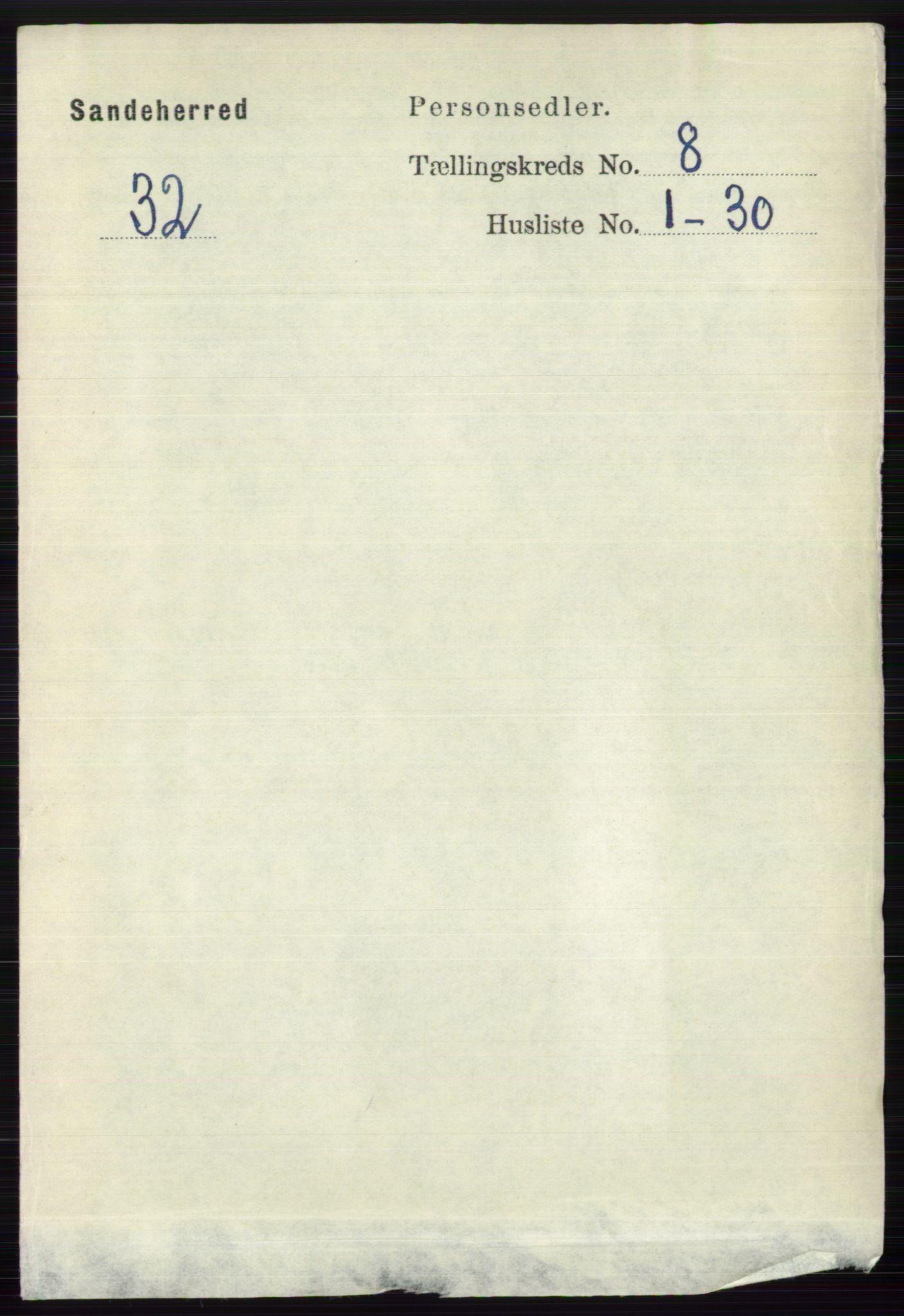 RA, Folketelling 1891 for 0724 Sandeherred herred, 1891, s. 4827