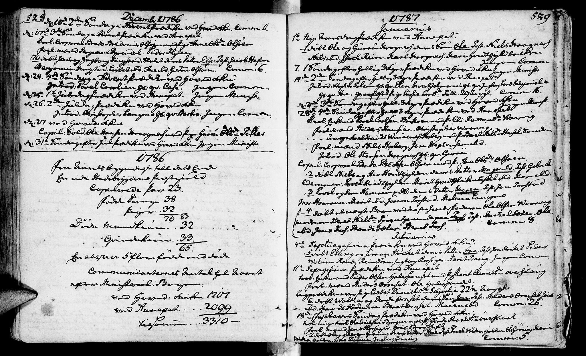 SAT, Ministerialprotokoller, klokkerbøker og fødselsregistre - Sør-Trøndelag, 646/L0605: Ministerialbok nr. 646A03, 1751-1790, s. 528-529