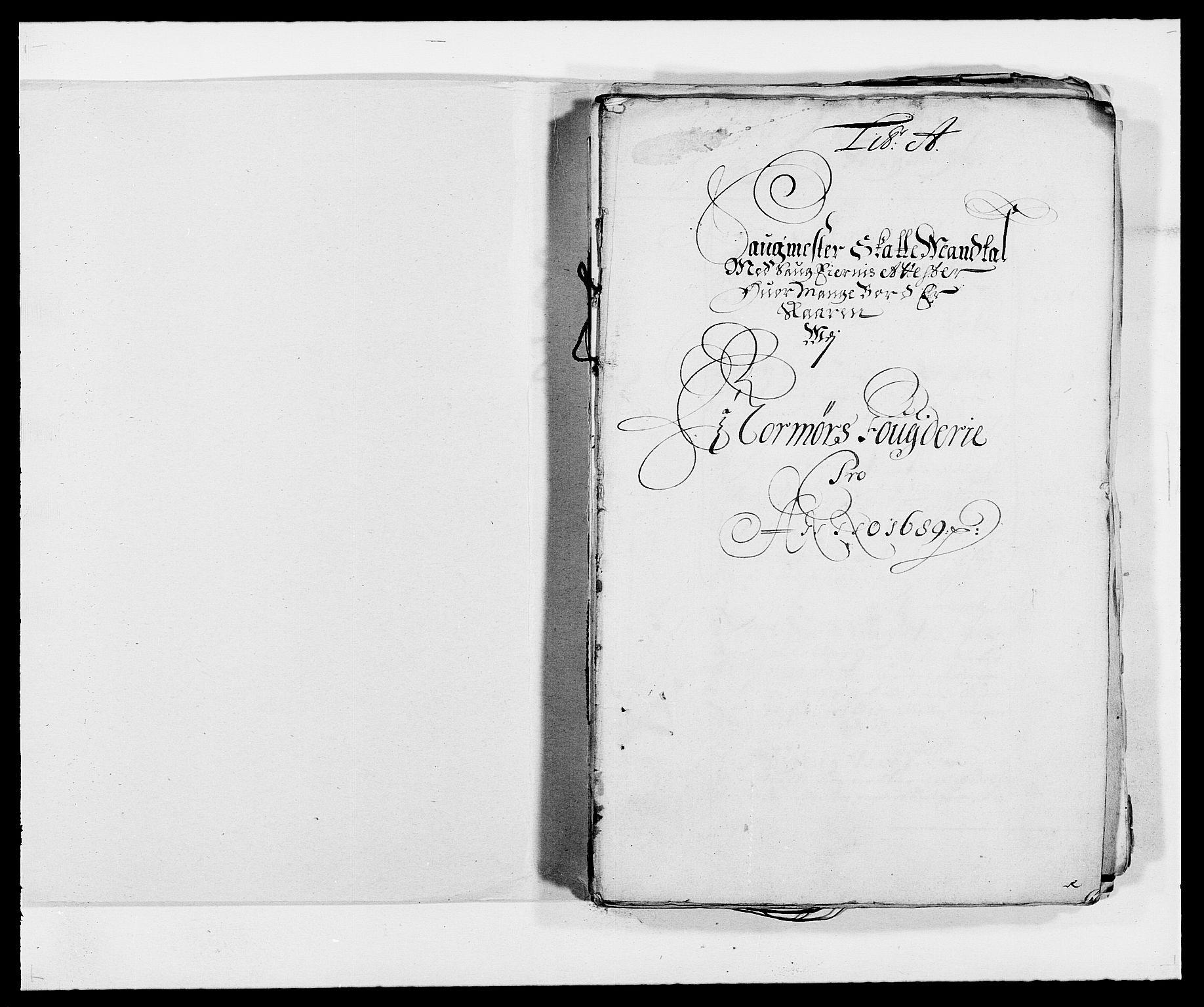 RA, Rentekammeret inntil 1814, Reviderte regnskaper, Fogderegnskap, R56/L3733: Fogderegnskap Nordmøre, 1687-1689, s. 349