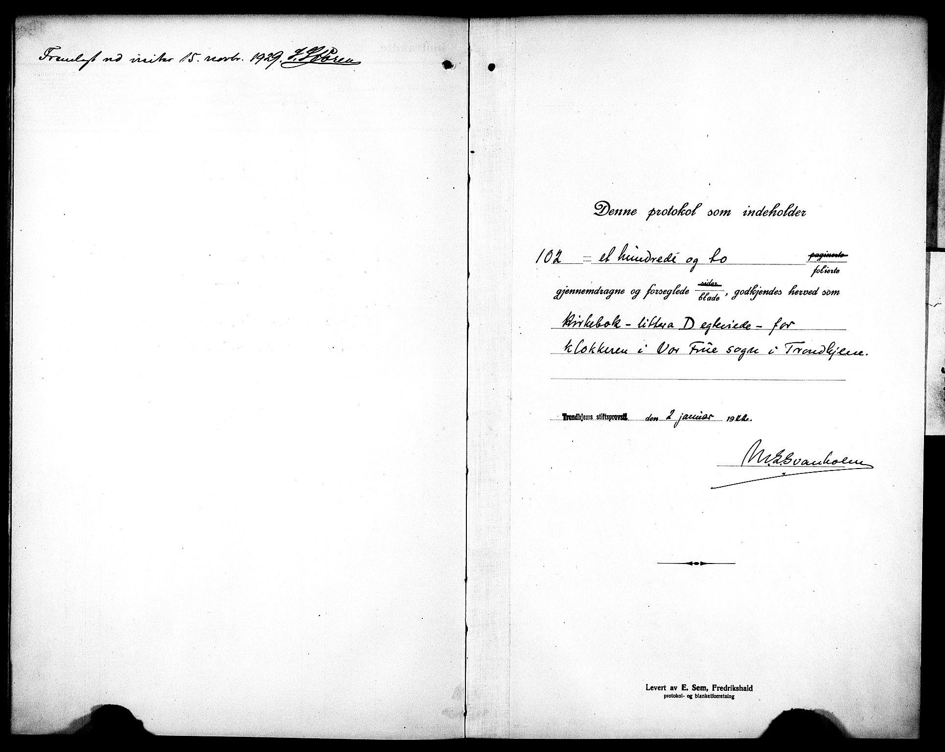 SAT, Ministerialprotokoller, klokkerbøker og fødselsregistre - Sør-Trøndelag, 602/L0149: Klokkerbok nr. 602C17, 1919-1932