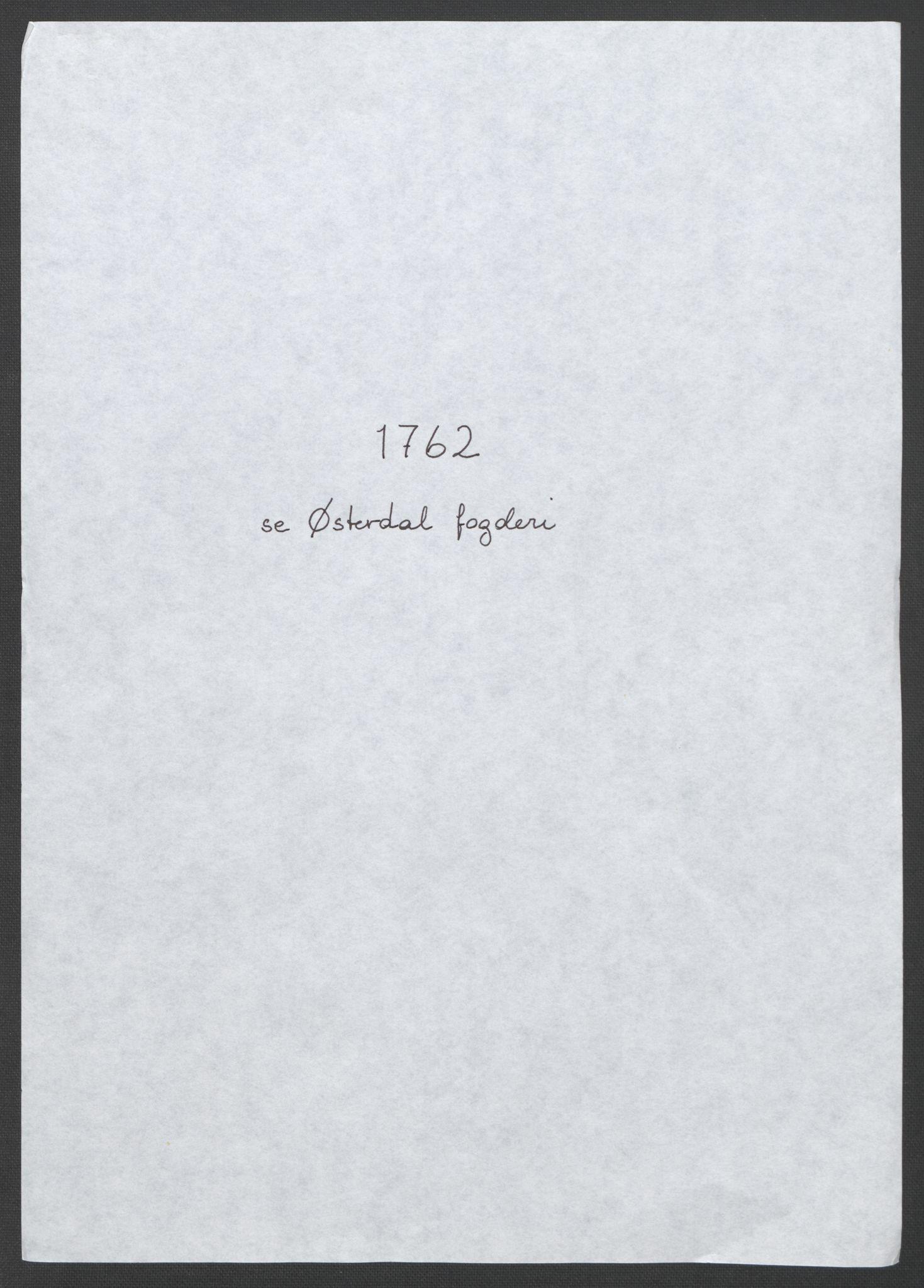 RA, Rentekammeret inntil 1814, Reviderte regnskaper, Fogderegnskap, R14/L0959: Ekstraskatten Solør og Odal, 1763-1770, s. 4