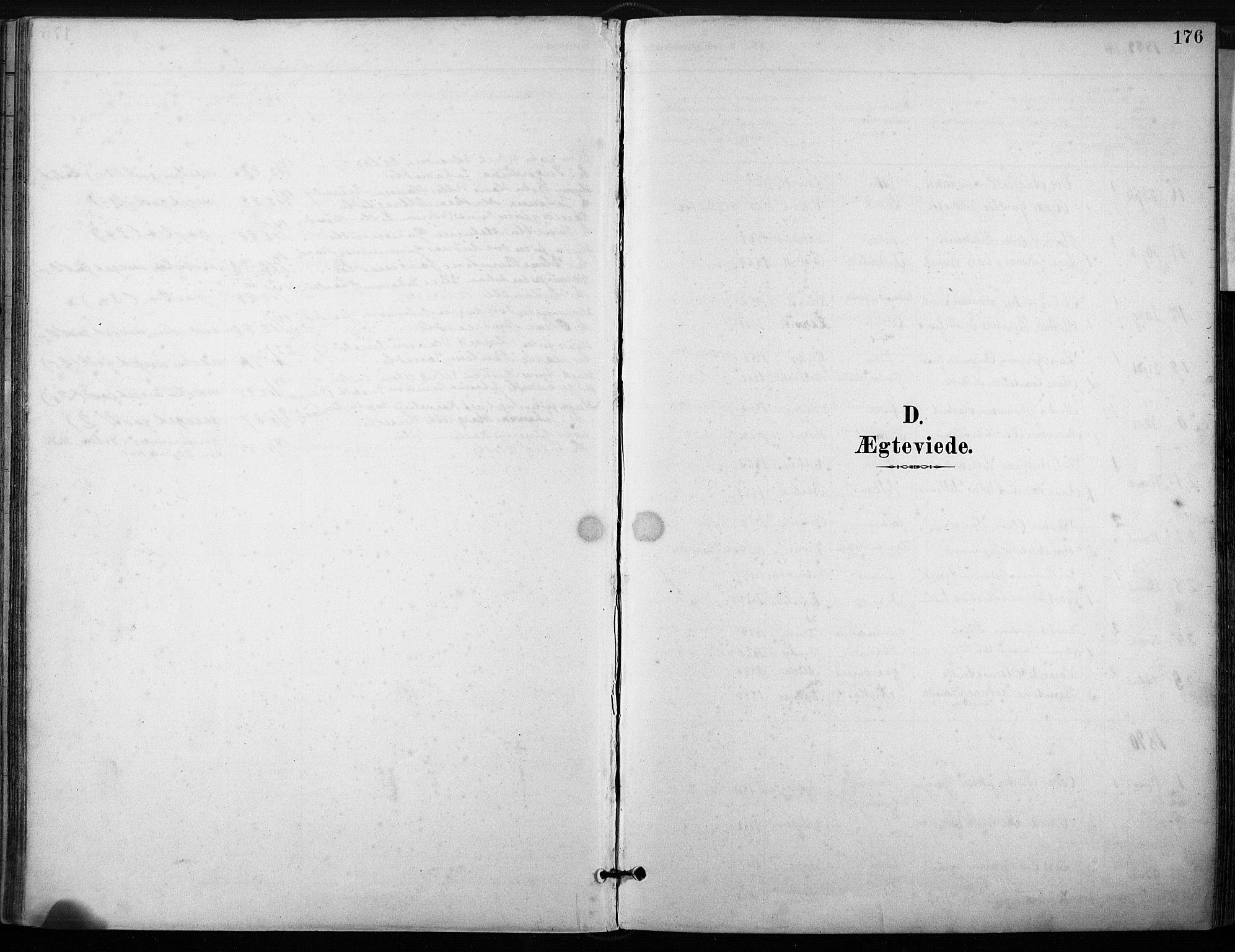 SAT, Ministerialprotokoller, klokkerbøker og fødselsregistre - Sør-Trøndelag, 640/L0579: Ministerialbok nr. 640A04, 1889-1902, s. 176