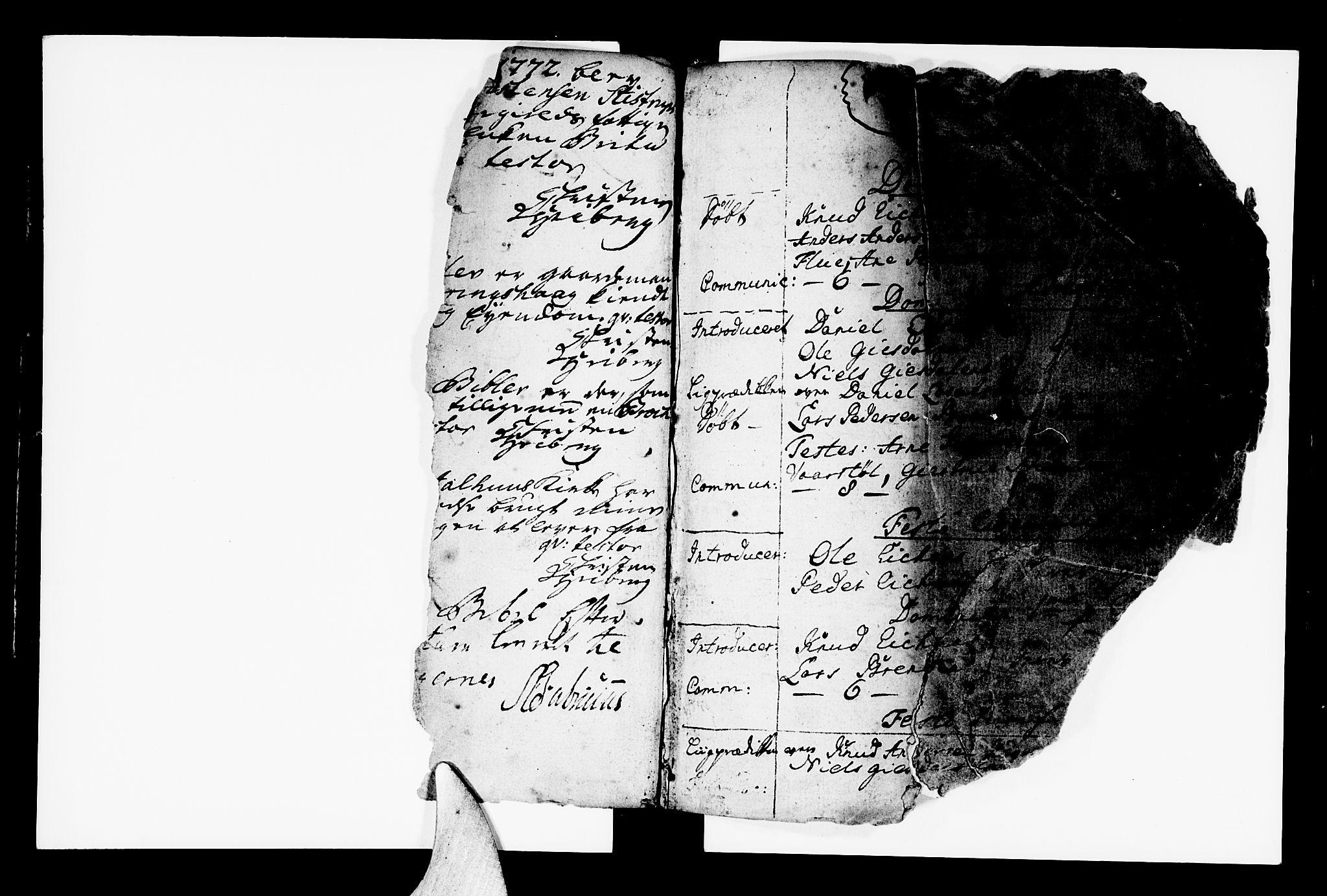 SAB, Jølster Sokneprestembete, Ministerialbok nr. A 3, 1748-1789, s. 0-1