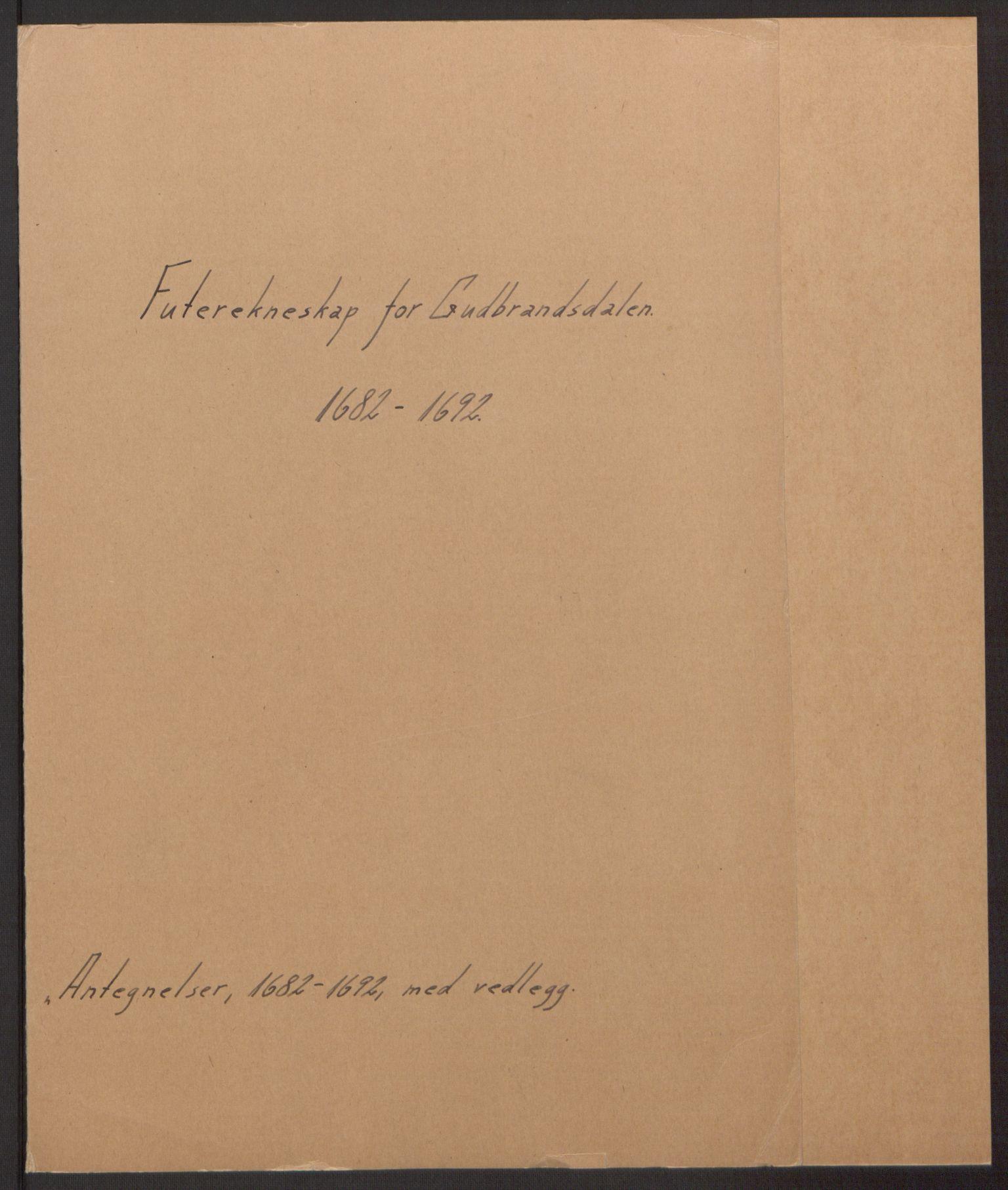 RA, Rentekammeret inntil 1814, Reviderte regnskaper, Fogderegnskap, R17/L1166: Fogderegnskap Gudbrandsdal, 1690-1692, s. 168
